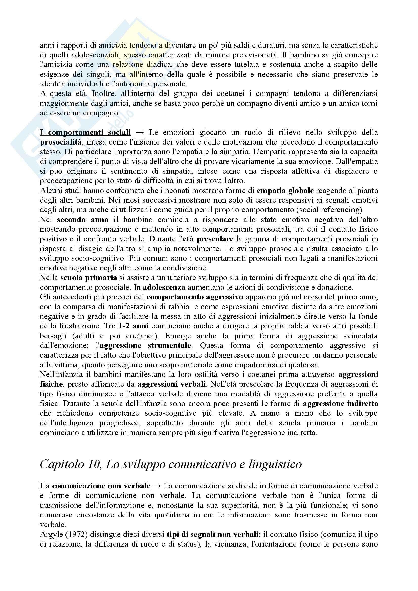 Riassunto esame Psicologia dello Sviluppo, prof. Vianello, libro consigliato Psicologia dello Sviluppo Pag. 36