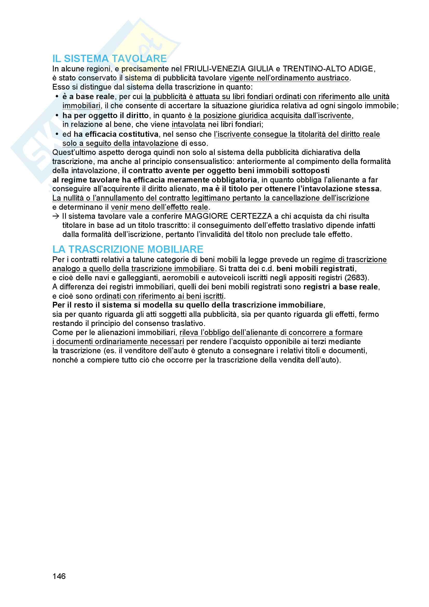 Riassunto esame diritto civile 2, prof. Troiano, libro consigliato Il contratto, Bianca (vol. 3) Pag. 146