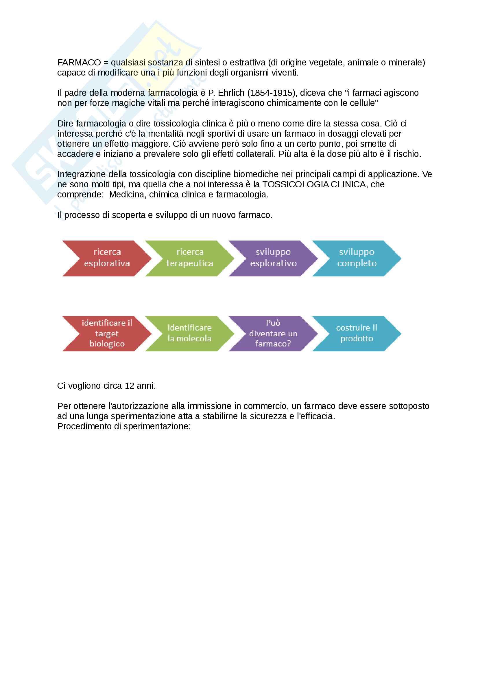 appunto M. Baraldo Farmacologia generale