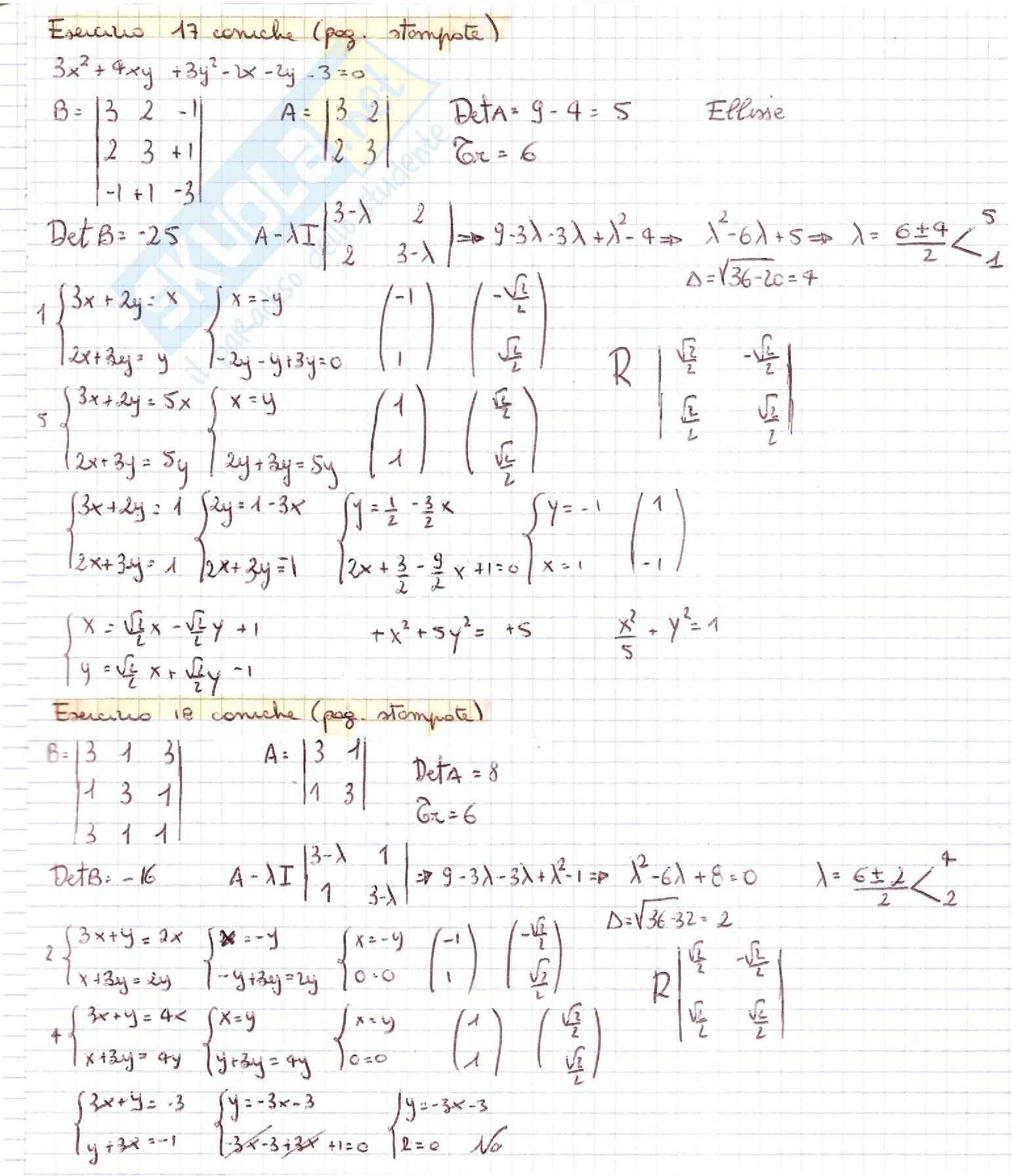 Geometria - esercizi Pag. 36