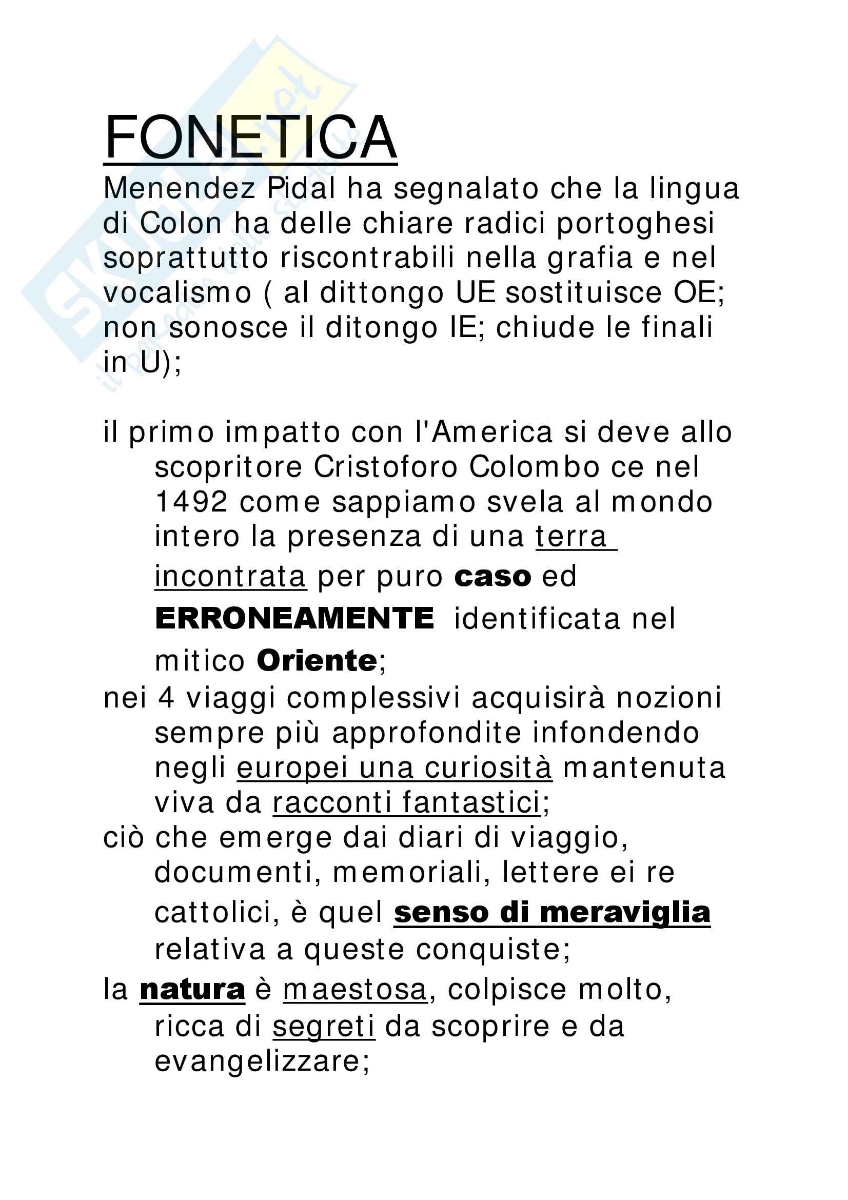 Cristoforo Colombo - Appunti Pag. 6