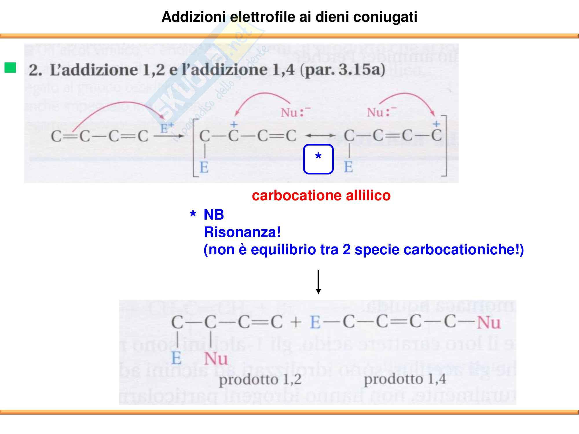 Chimica Organica: Alcheni e Alchini Pag. 71