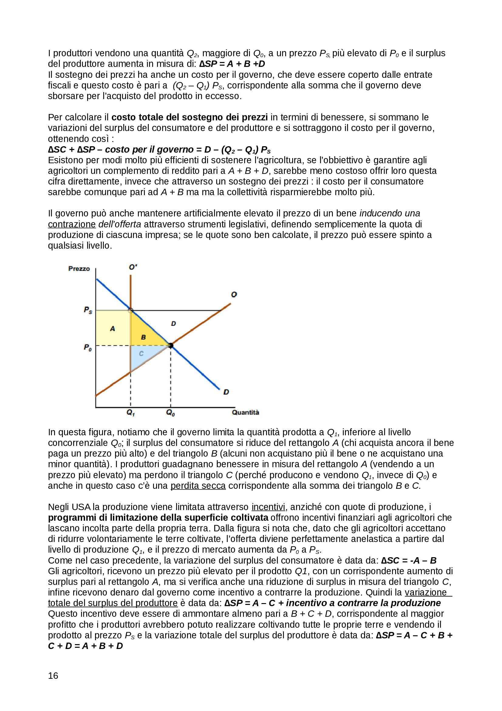 Riassunto esame Microeconomia Microeconomia, Pindyck, Rubinfeld - parte seconda, prof. Orsini Pag. 16