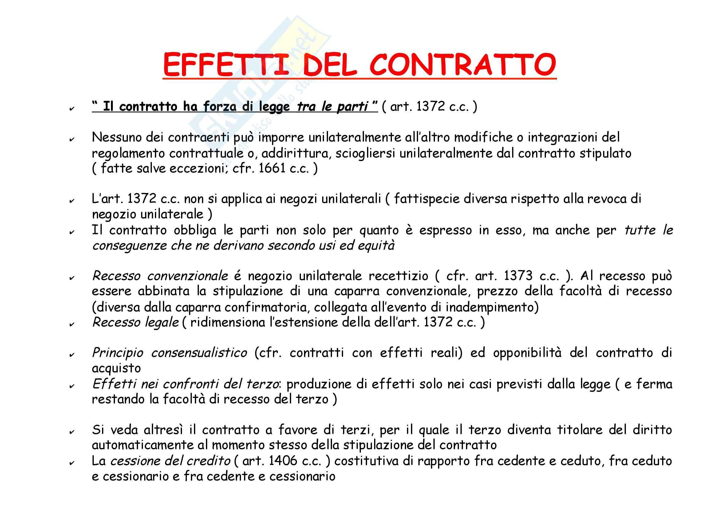 Diritto privato 1 - Il contratto Pag. 26
