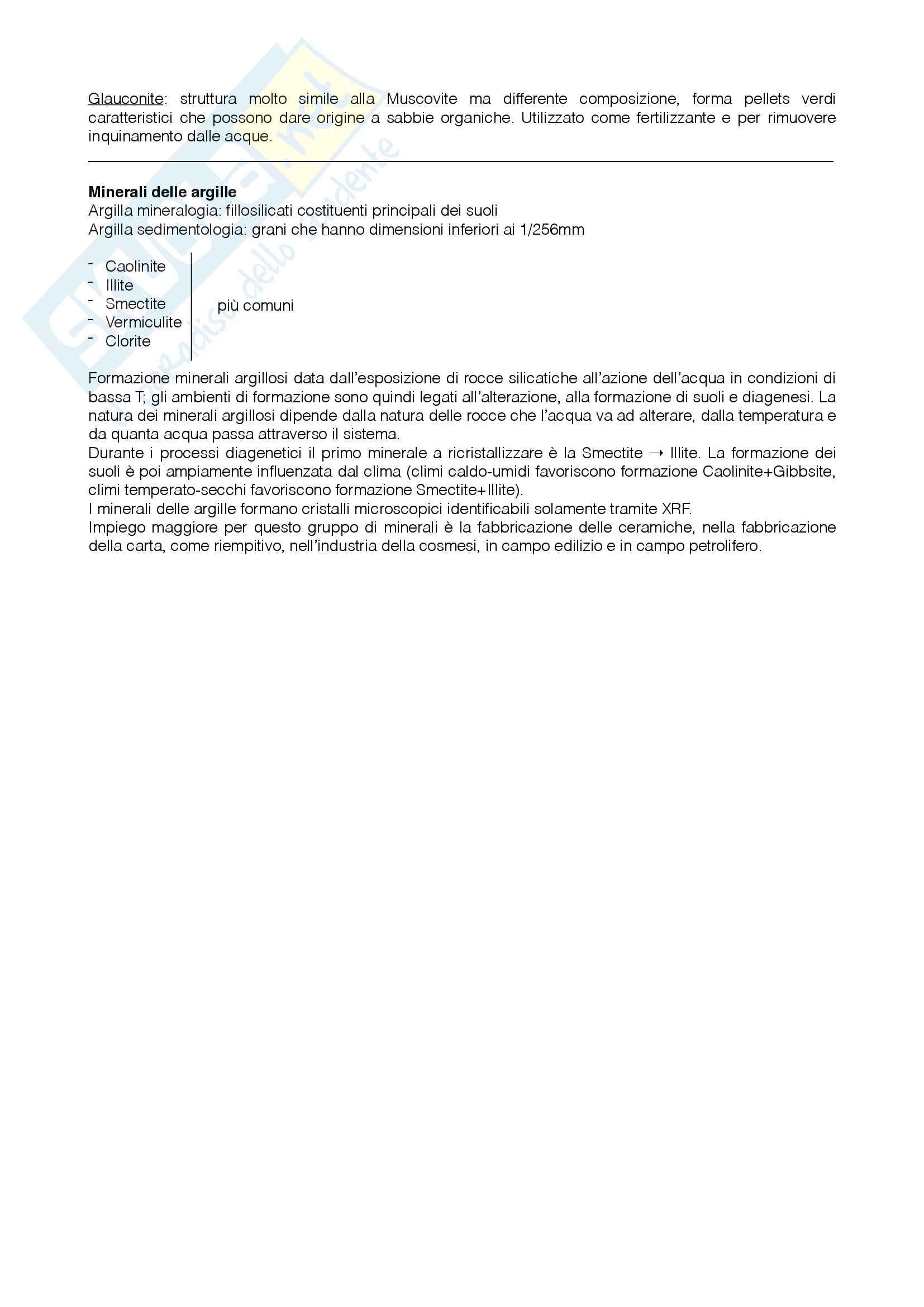 Sistematica dei minerali Pag. 16