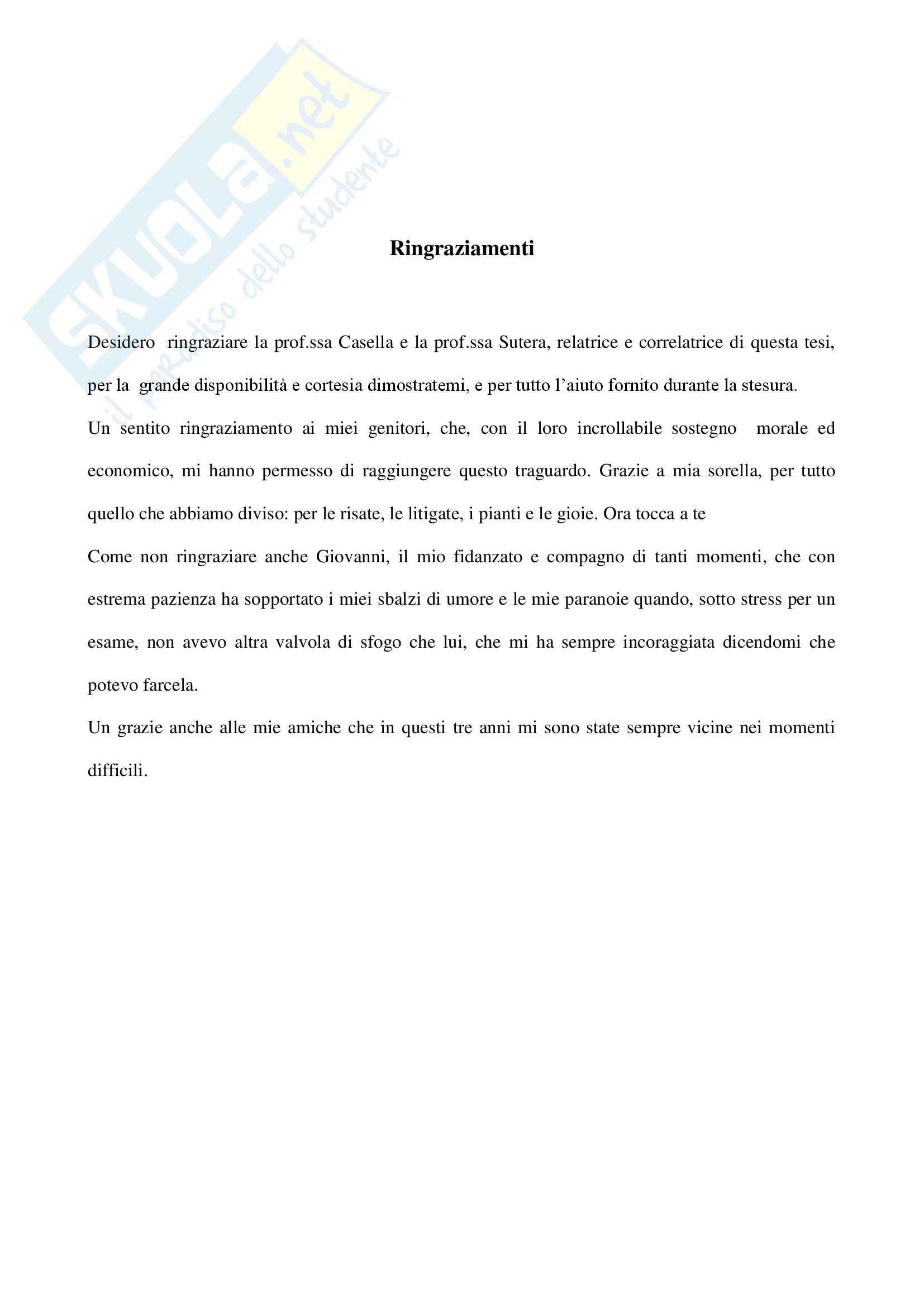Tesi - L'accesso ai Servizi Sanitari da parte degli stranieri: criticità e prospettive Pag. 2