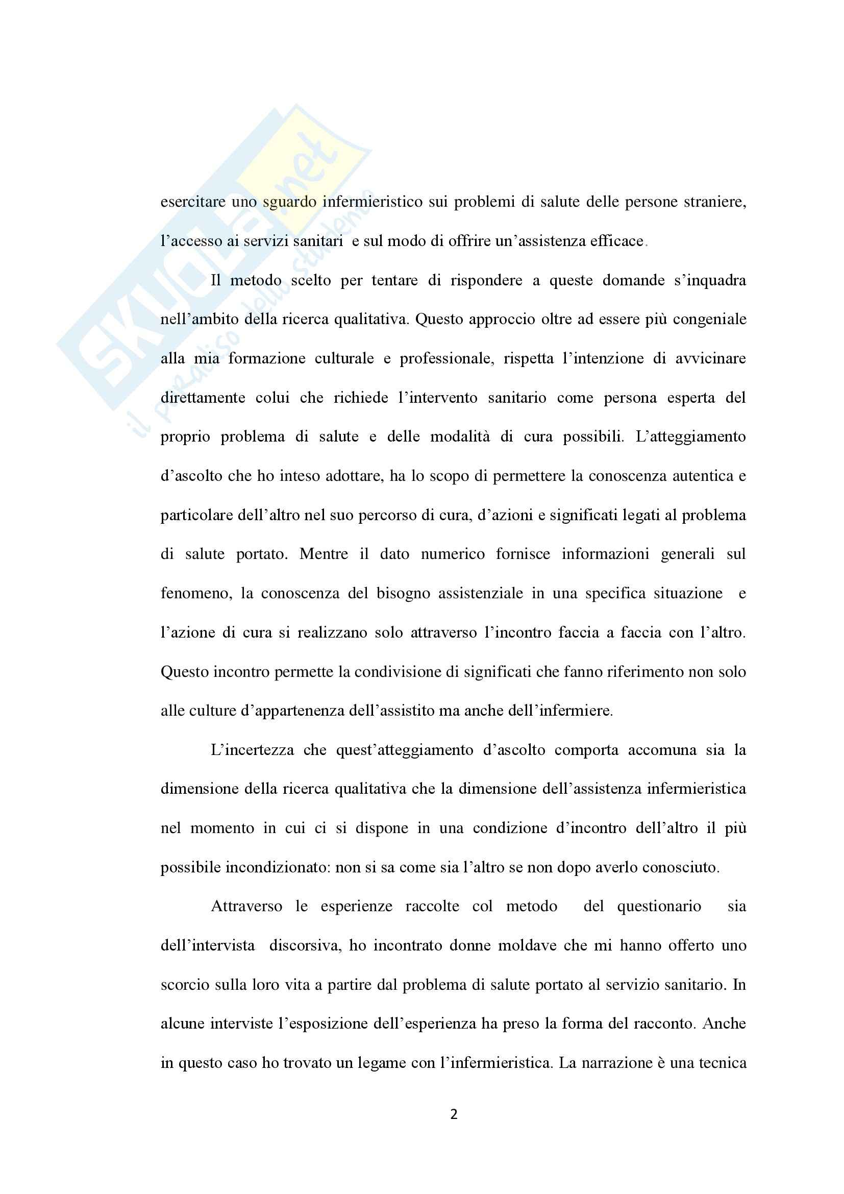 Tesi - L'accesso ai Servizi Sanitari da parte degli stranieri: criticità e prospettive Pag. 6