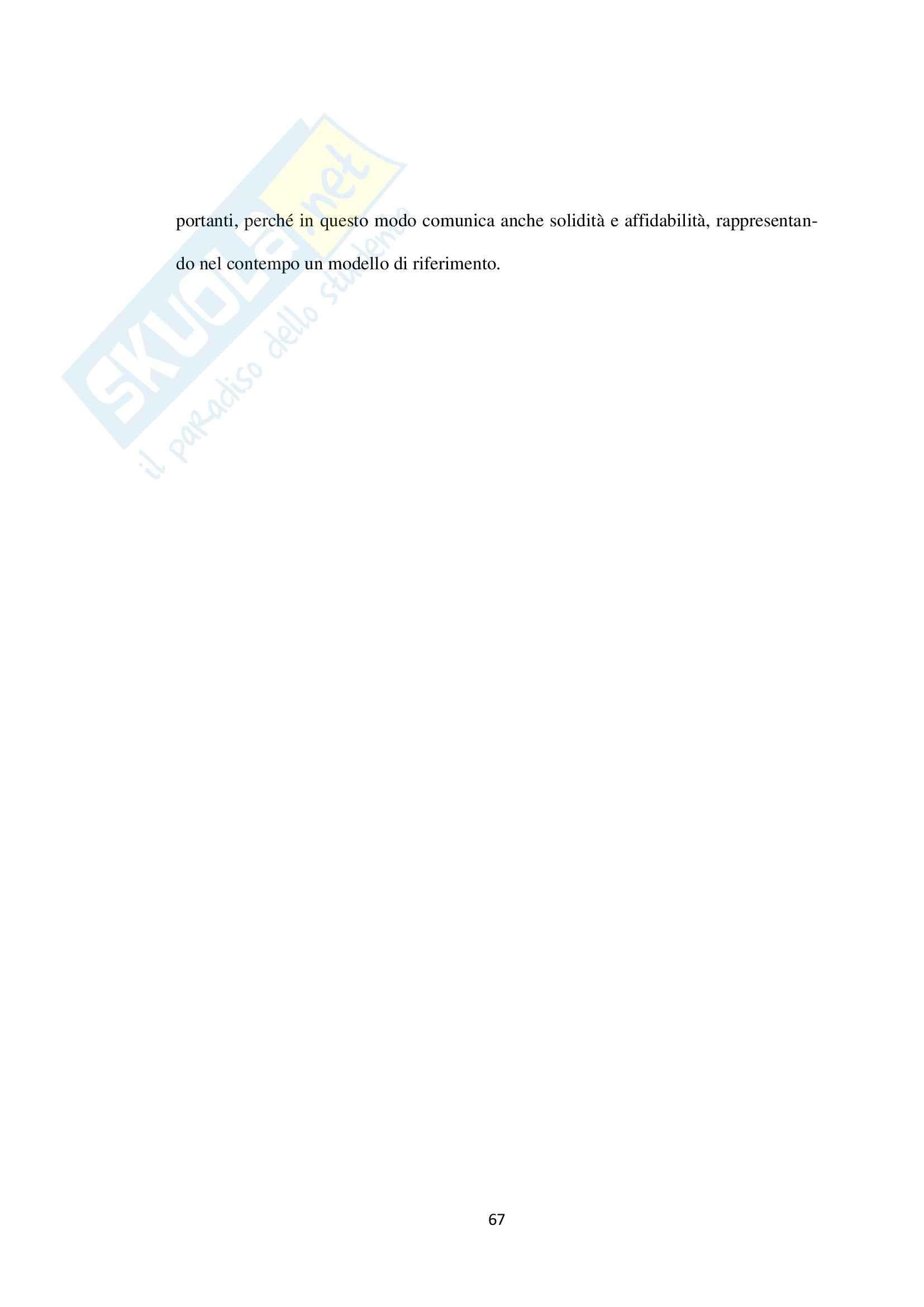 Tesi - L'accesso ai Servizi Sanitari da parte degli stranieri: criticità e prospettive Pag. 71