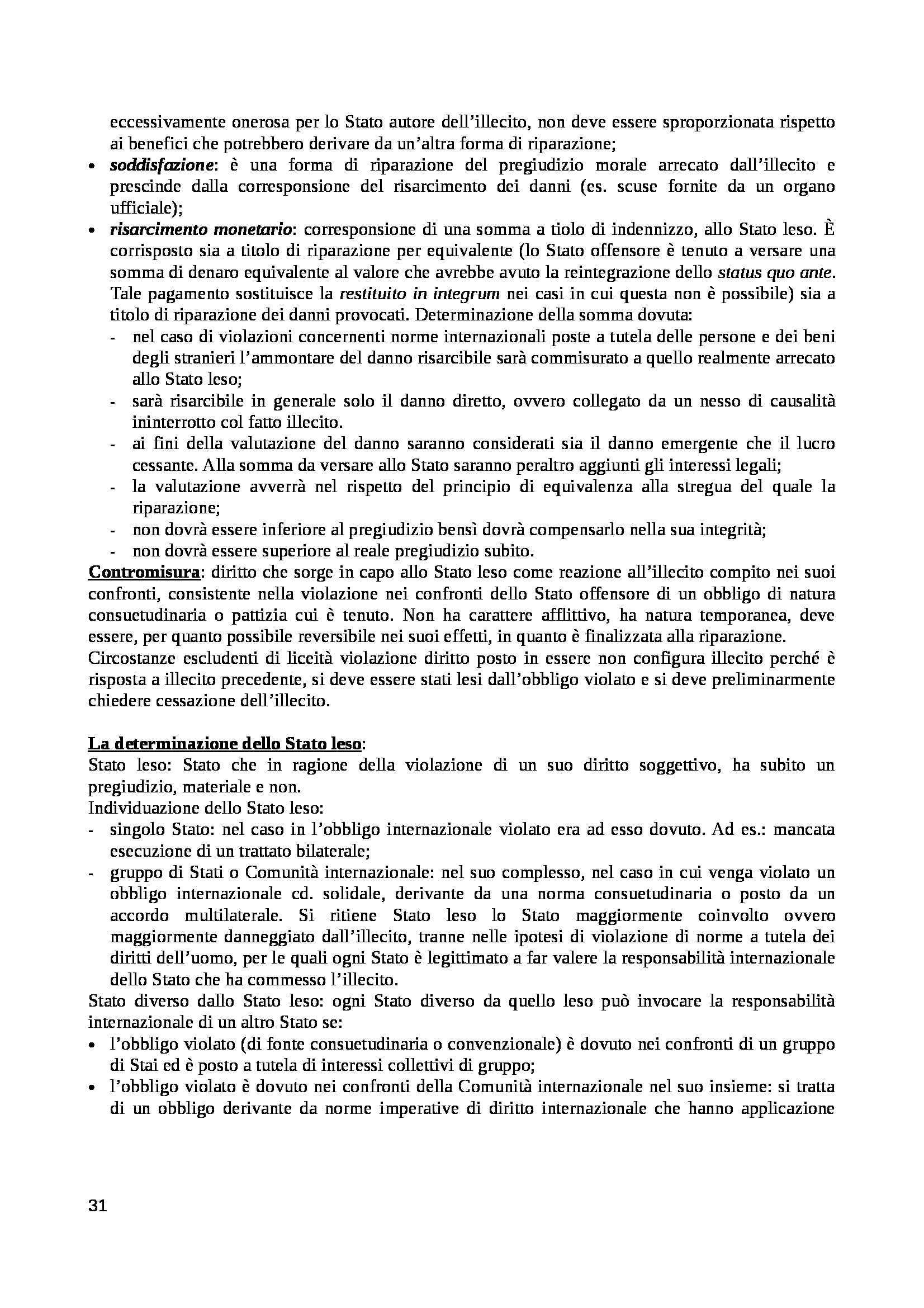 Diritto internazionale - Appunti Pag. 31