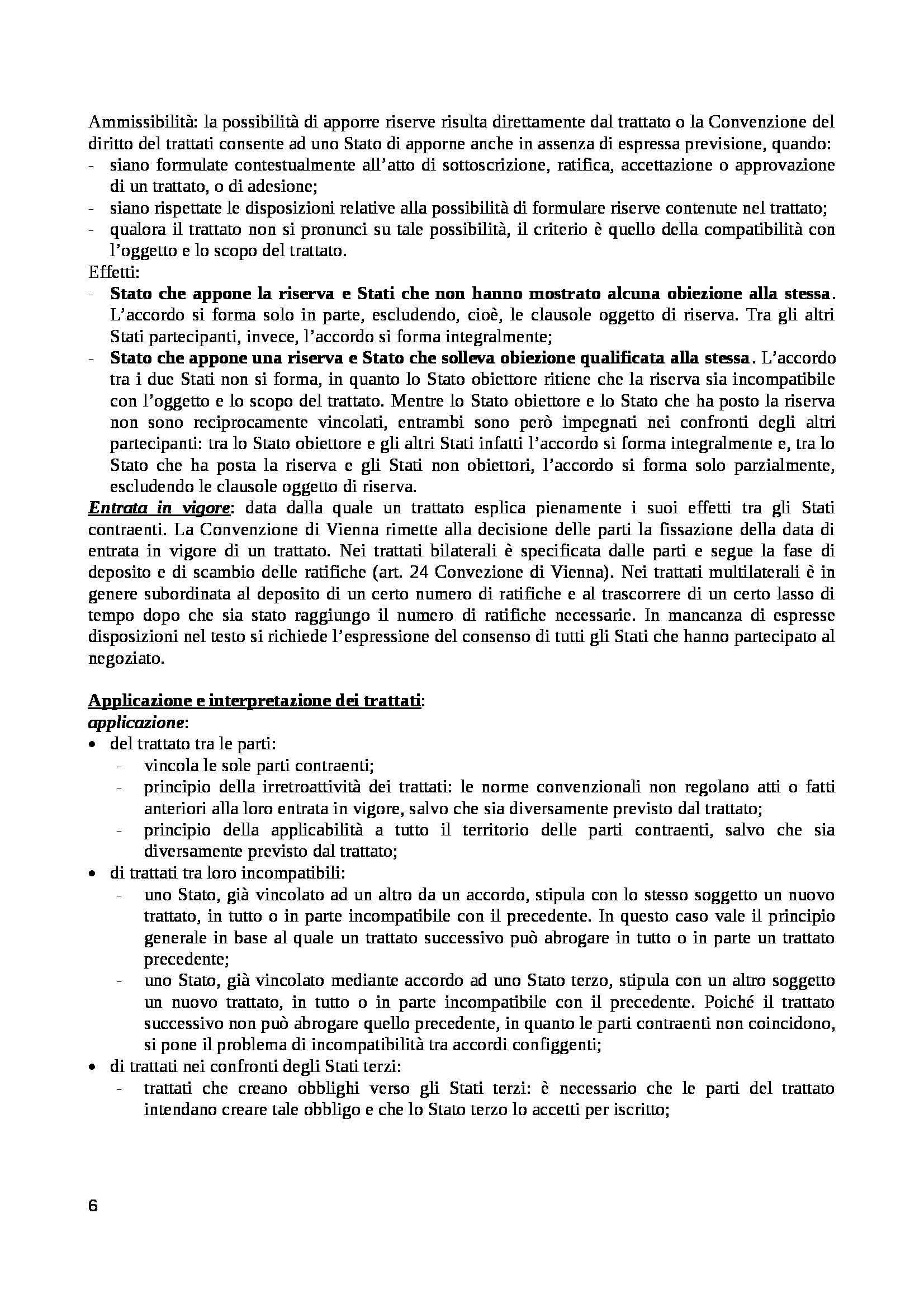 Diritto internazionale - Appunti Pag. 6
