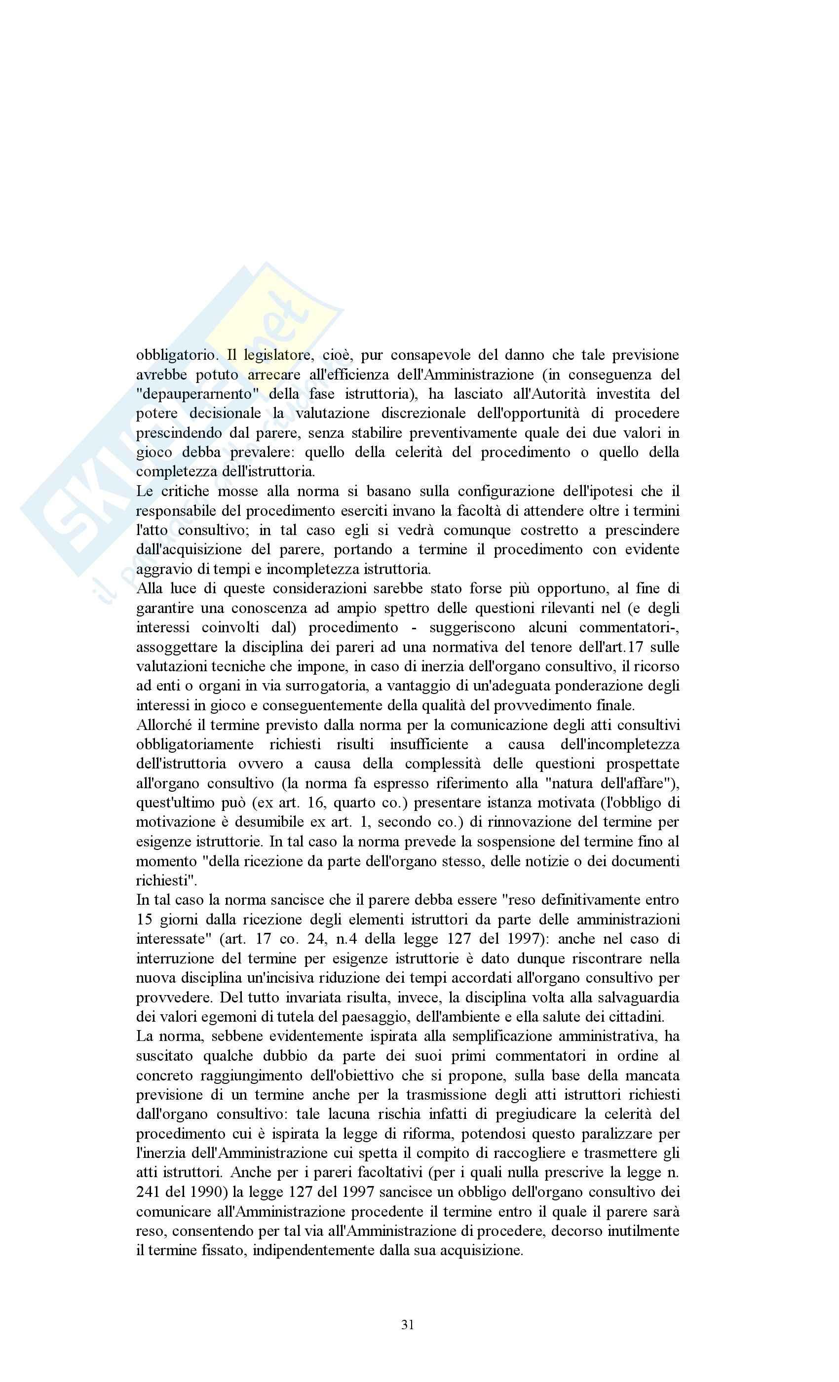 Diritto amministrativo - Appunti Pag. 31