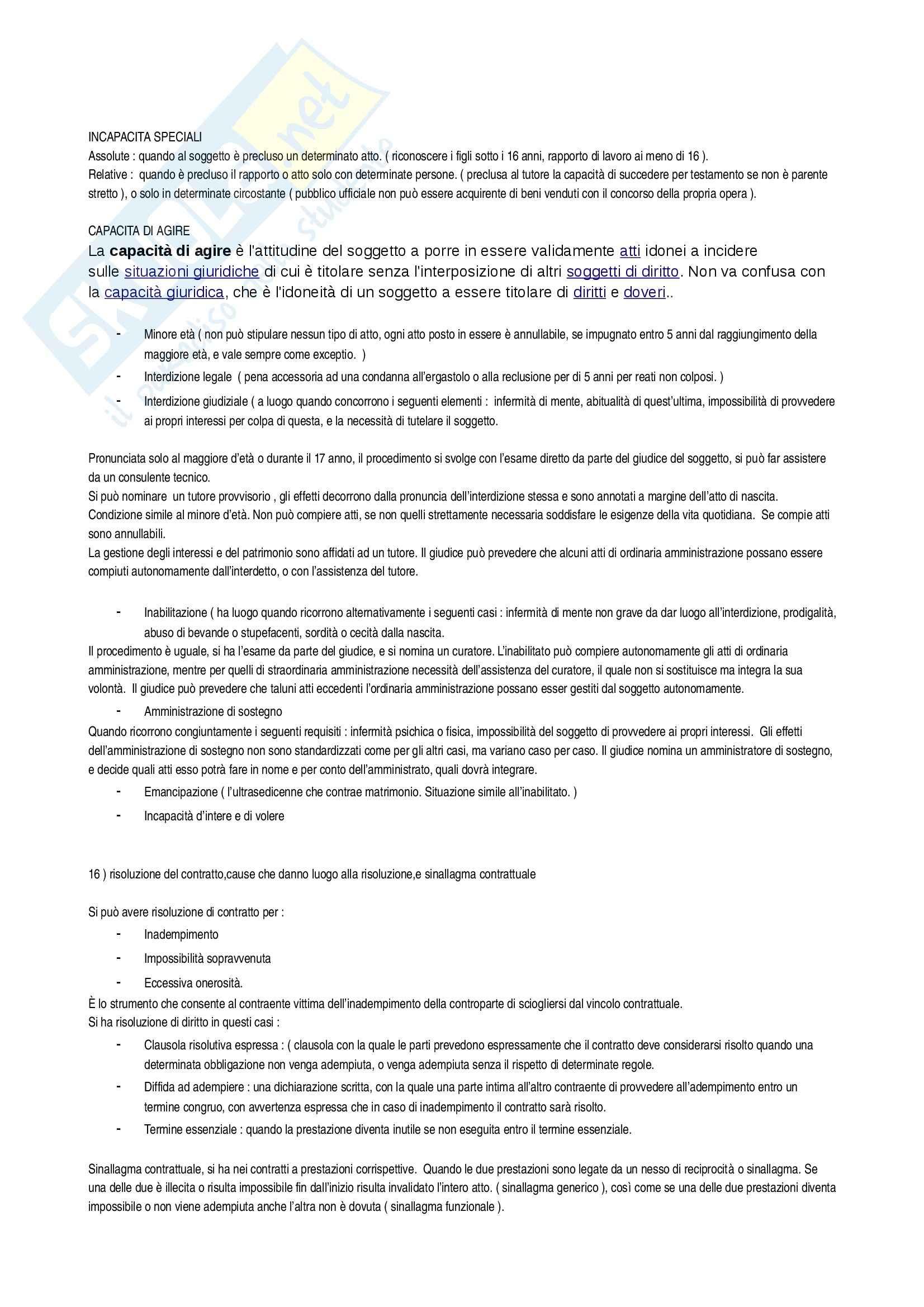 Diritto privato - domande e risposte Pag. 6