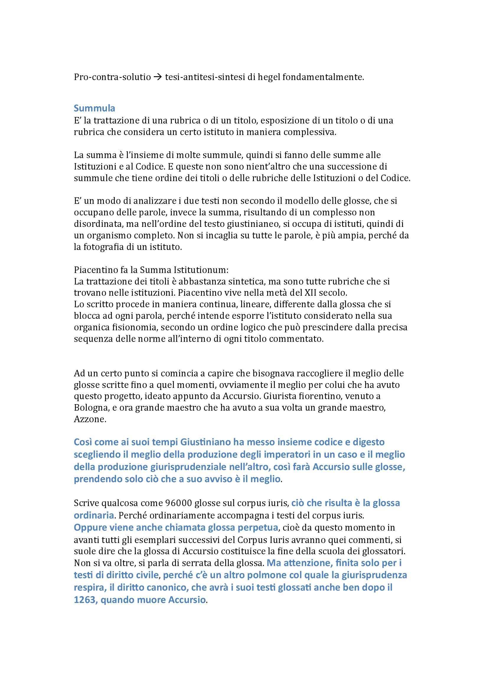 Storia del diritto medievale e moderno - Appunti Pag. 21