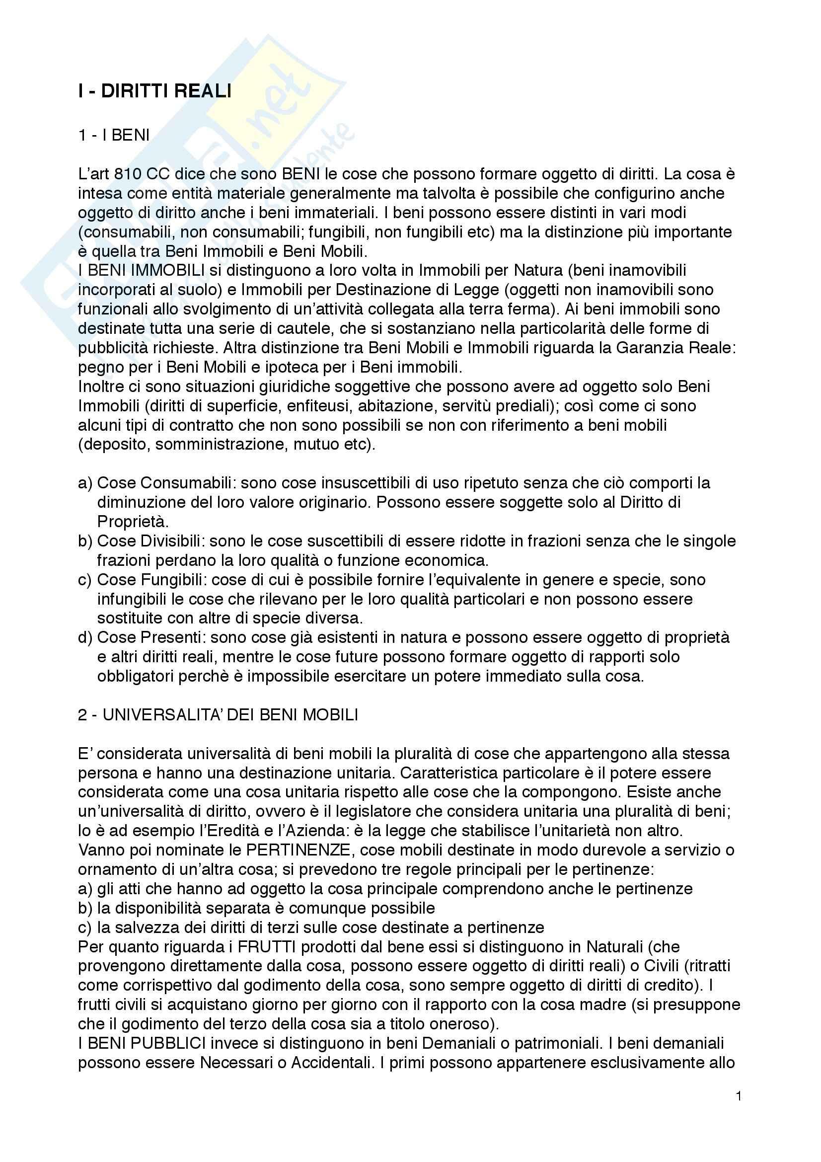 Riassunto esame Diritto privato, prof. Murgo, libro consigliato Diritto Privato III, Utet giuridica