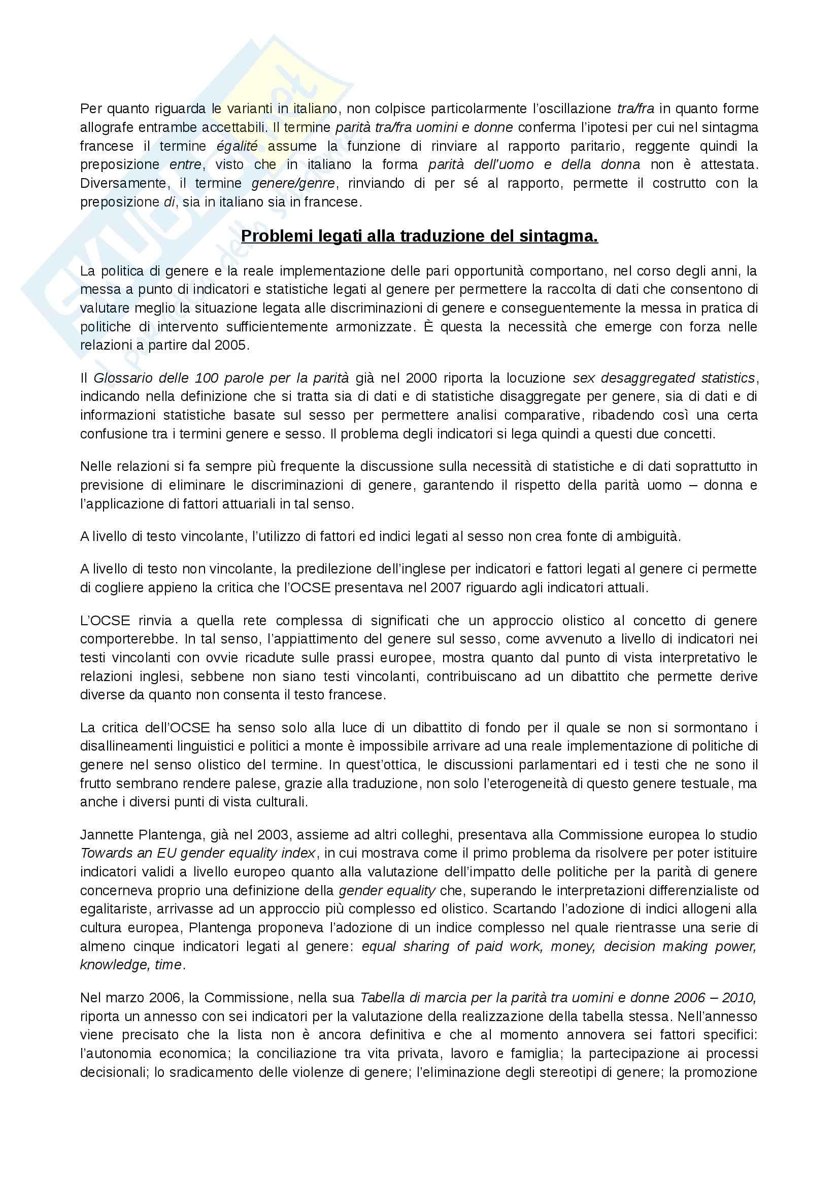 Riassunto esame Diritto alla lingua, prof. Paolo, libro consigliato Multilinguismo e terminologia nell'Unione europea, Raus Pag. 26