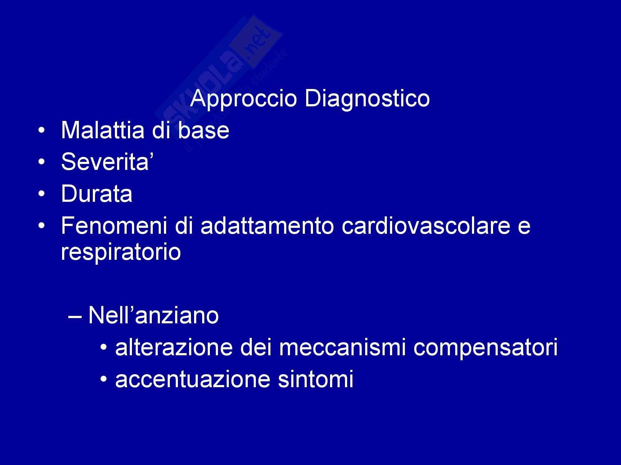 Anemia - Definizione e classificazione Pag. 16