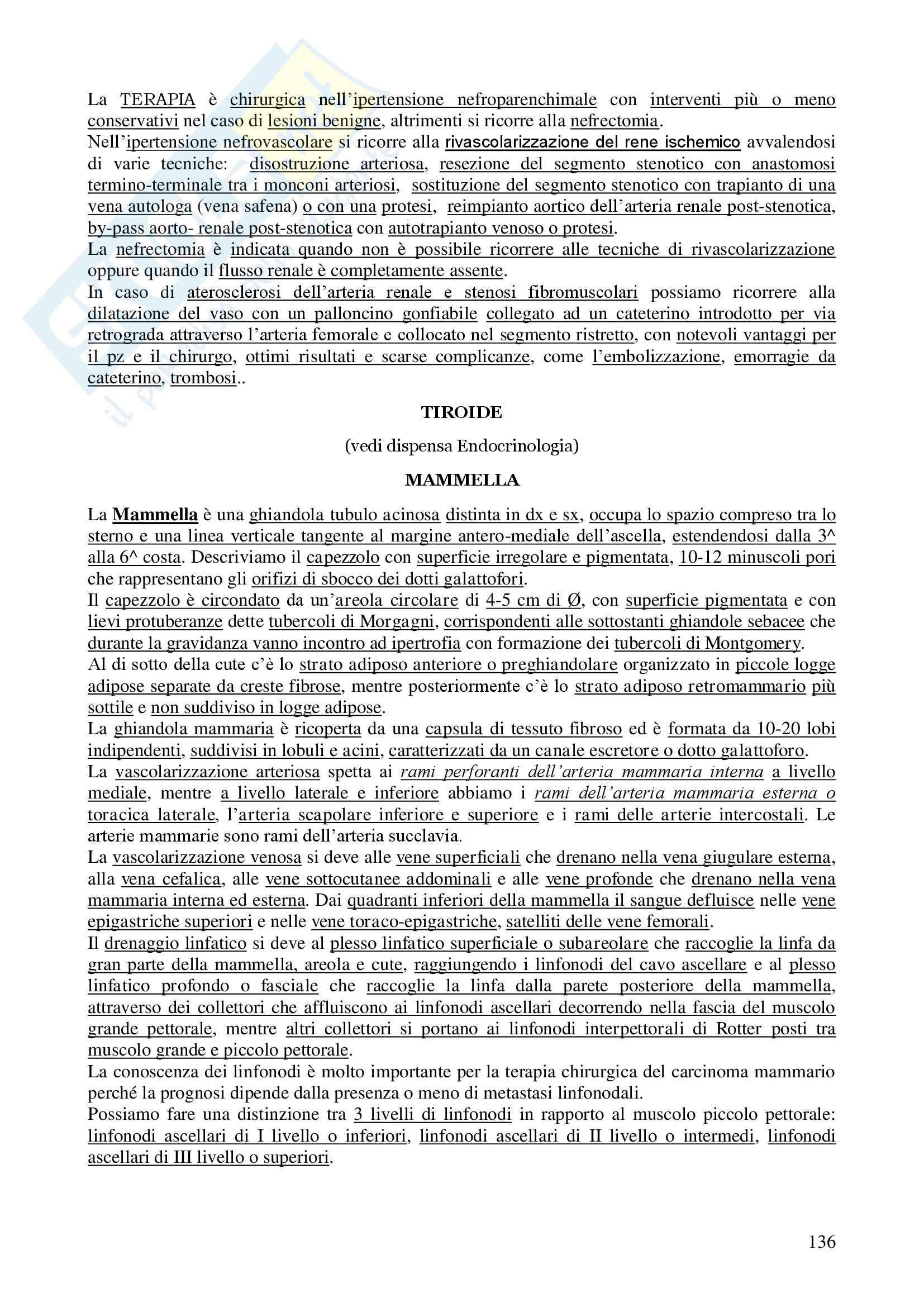 Chirurgia - chirurgia generale - Appunti Pag. 136