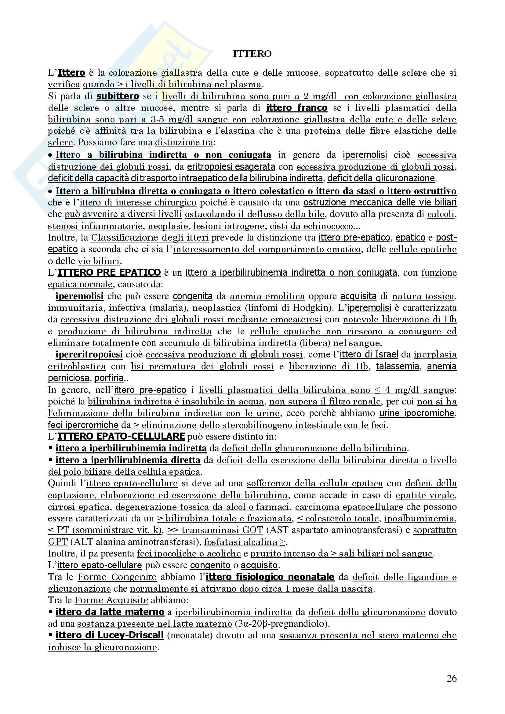 Chirurgia - chirurgia generale - Appunti Pag. 26