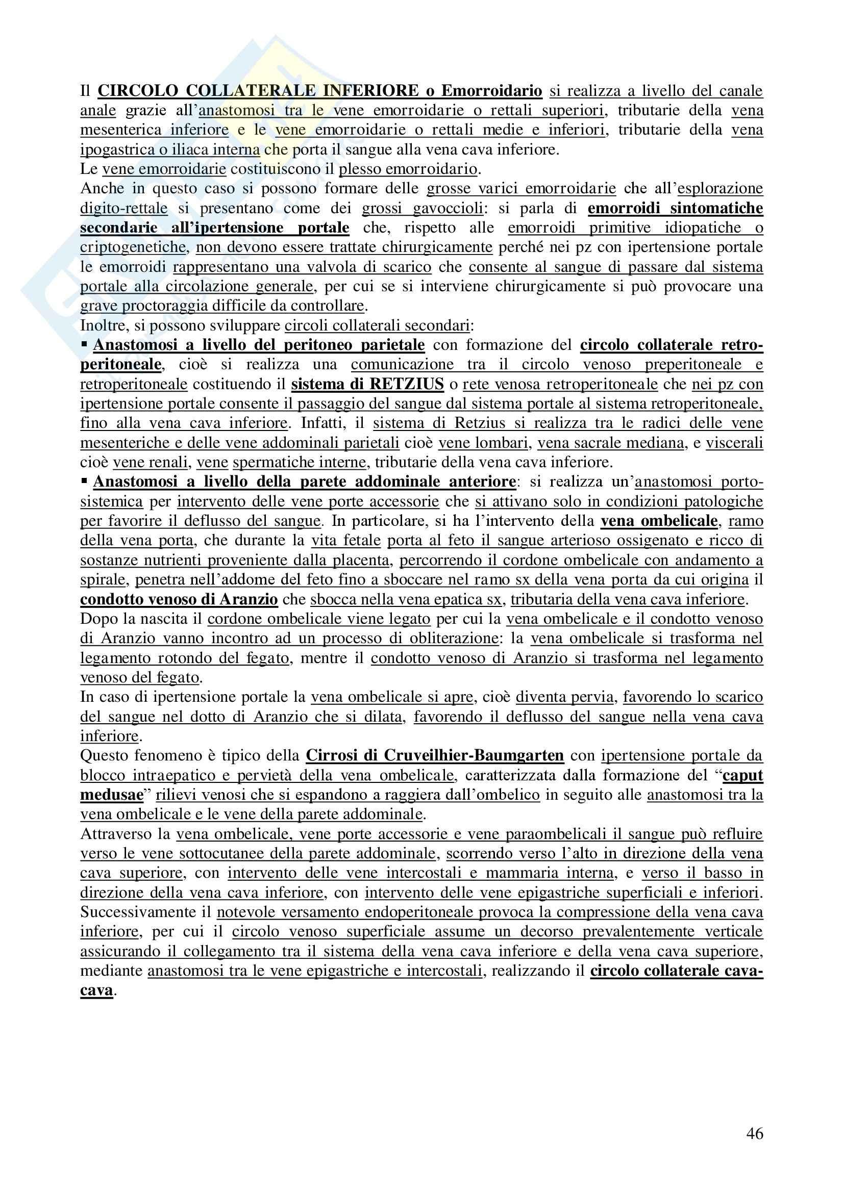 Chirurgia - chirurgia generale - Appunti Pag. 46