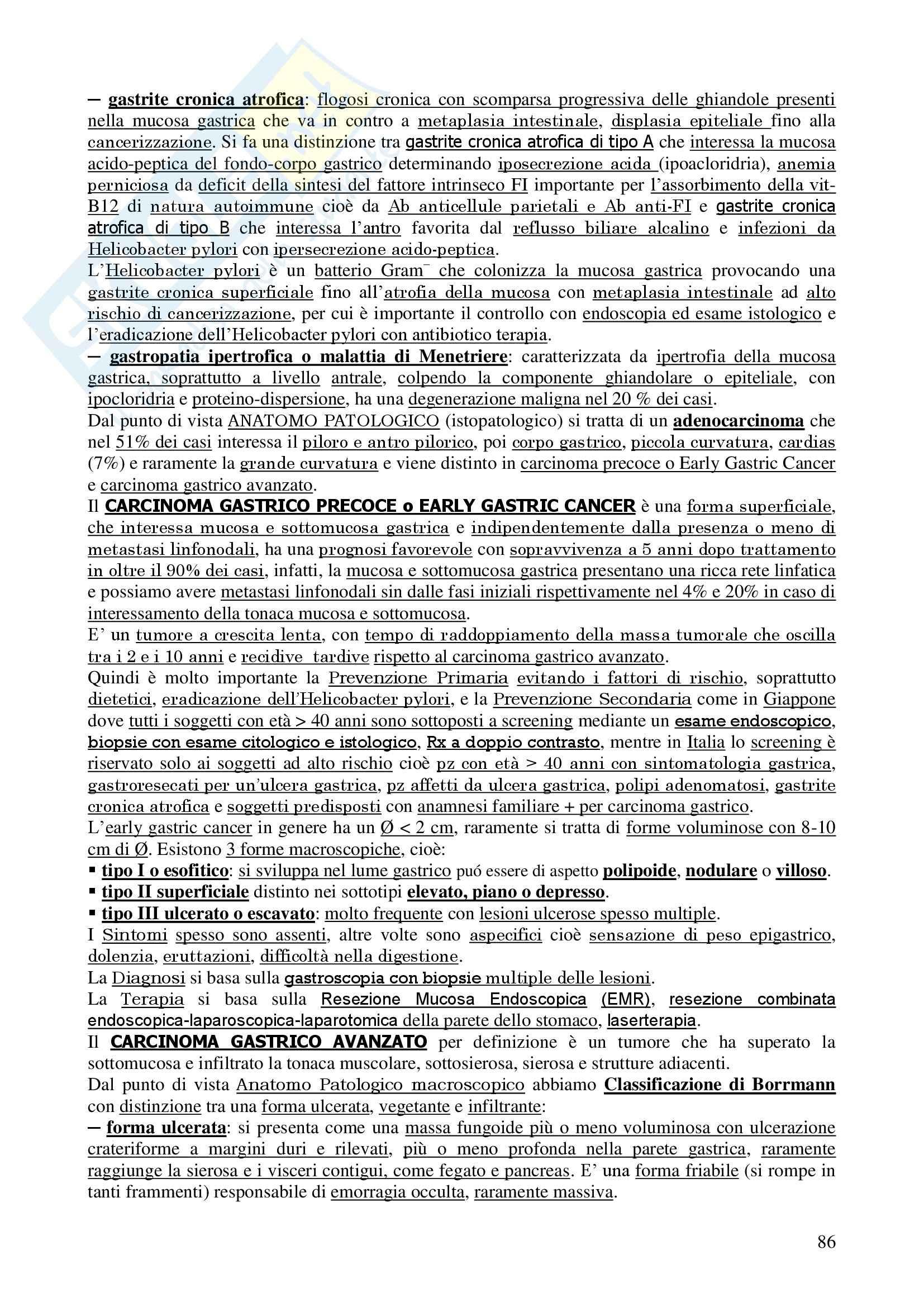 Chirurgia - chirurgia generale - Appunti Pag. 86