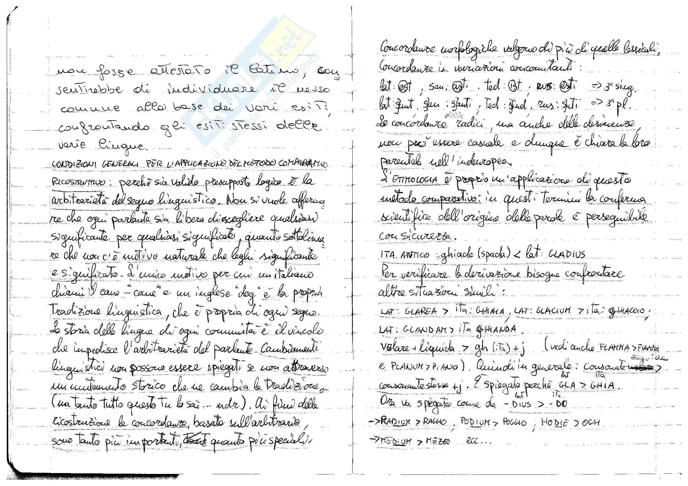 Metodo comparativo-ricostruttivo - Applicazione alla filologia romanza