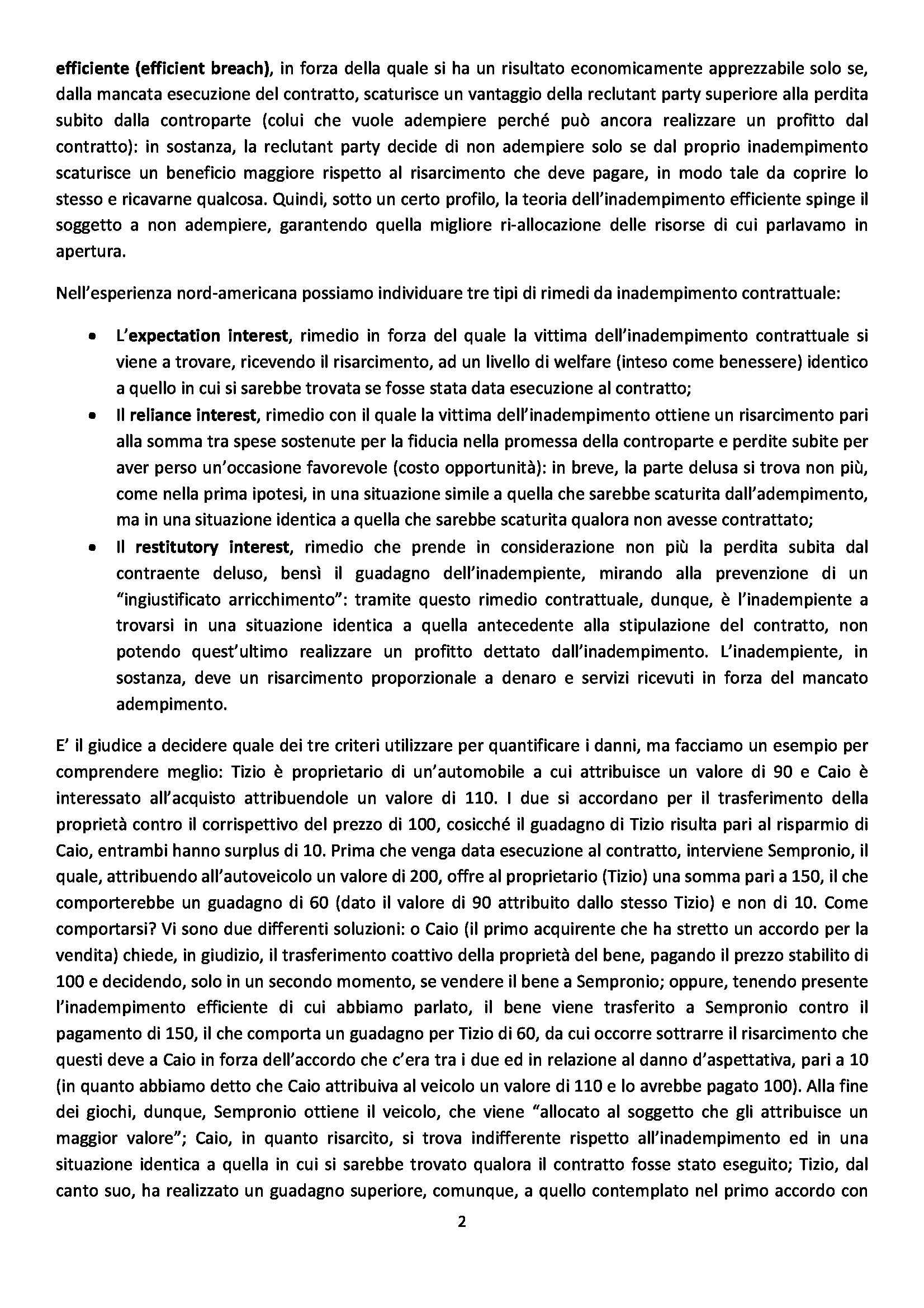 Diritto privato comparato - Seminari Pag. 2