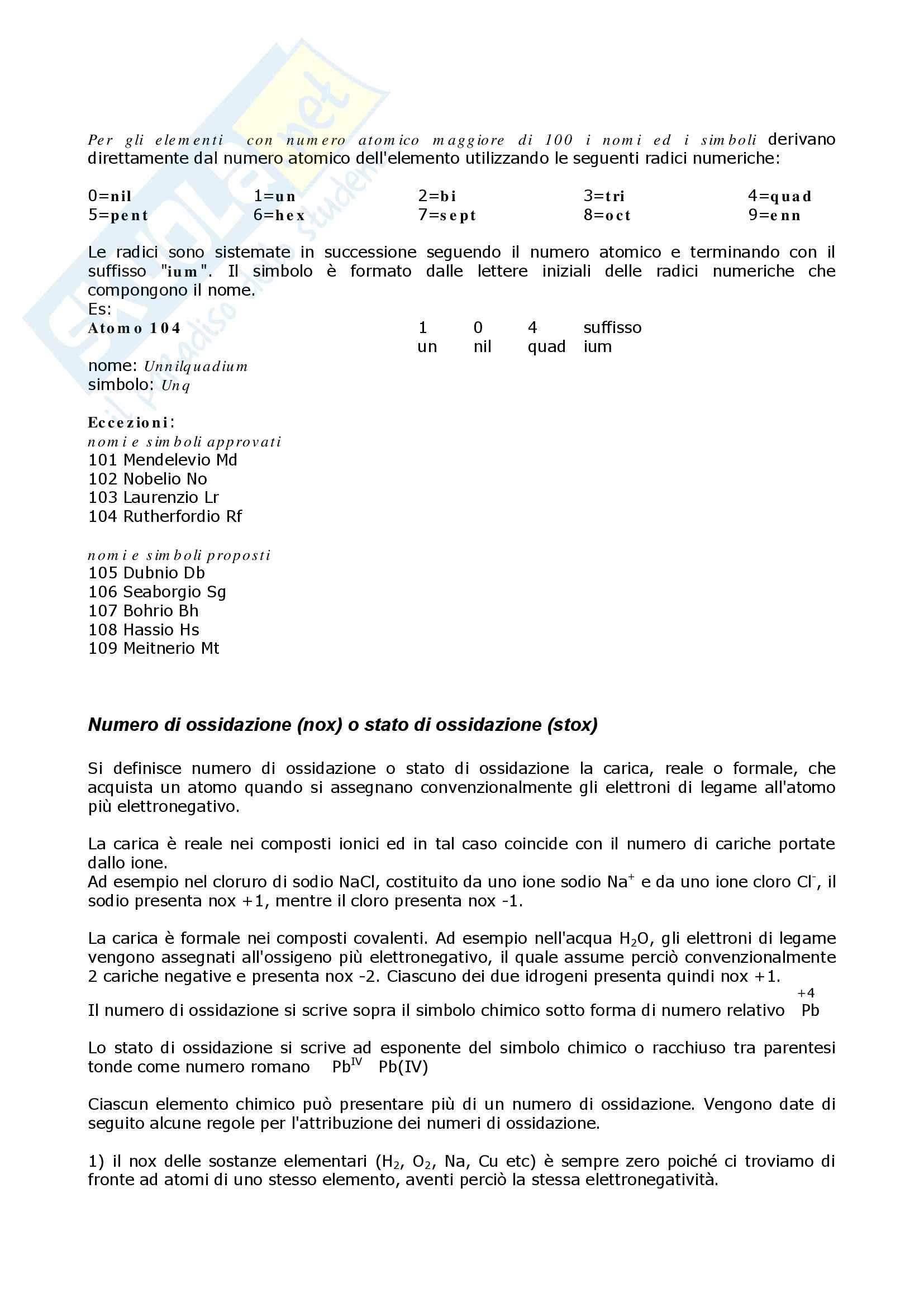 Chimica organica - composti organici: nomenclatura Pag. 2