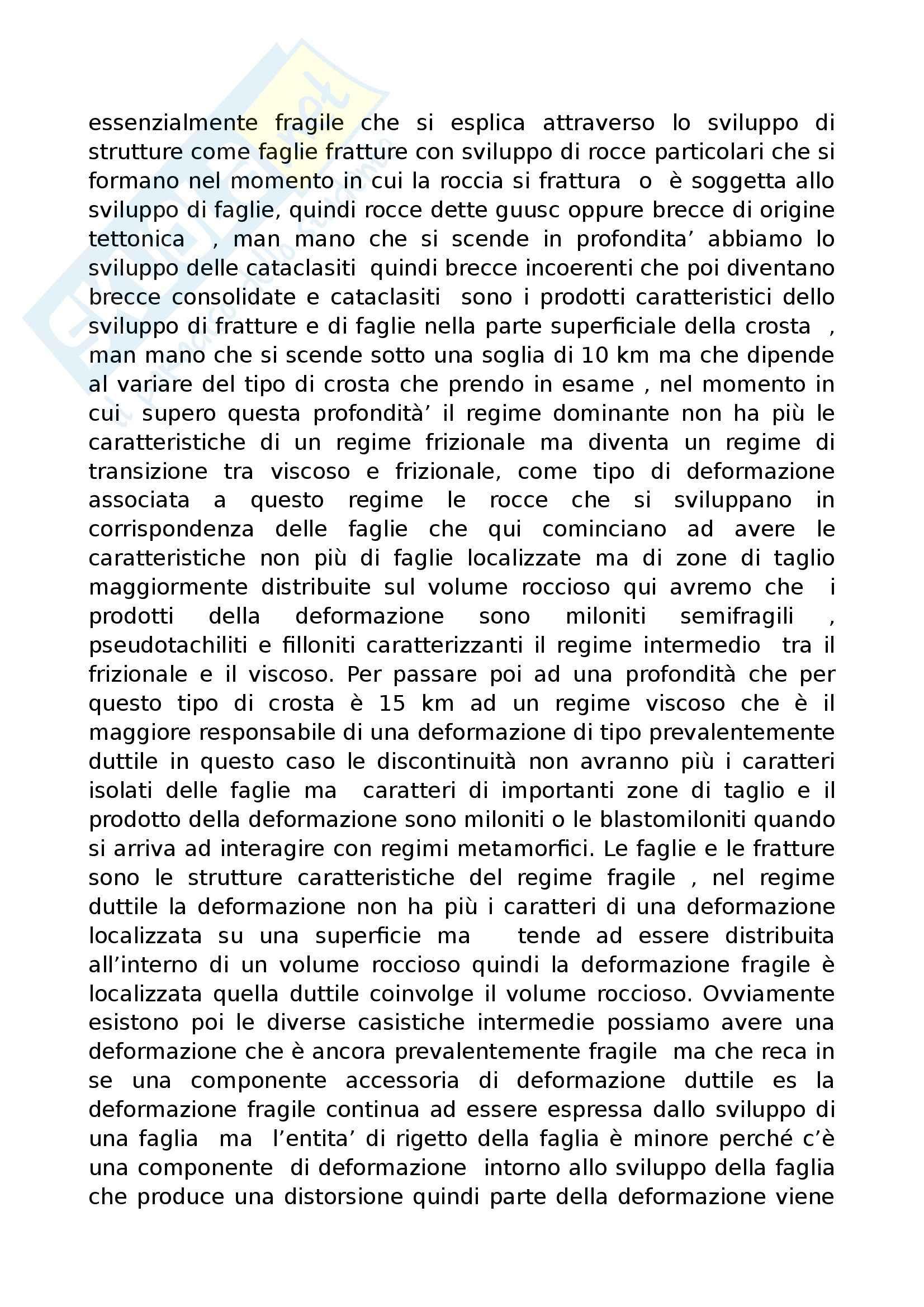 Fondamenti di geologia - tettonica a placche nel dettaglio Pag. 11