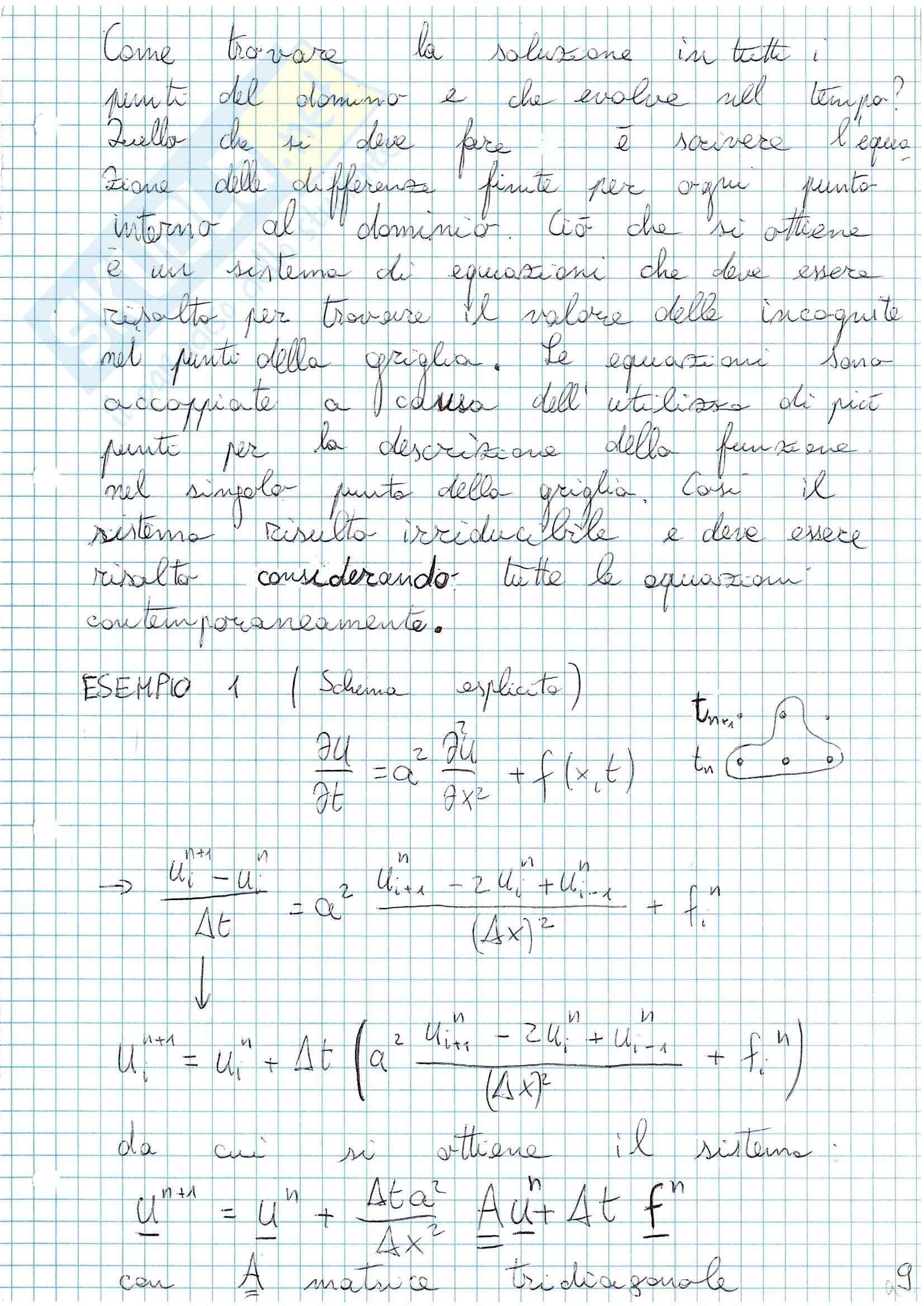 Appunti Fluidodinamica computazionale Pag. 21