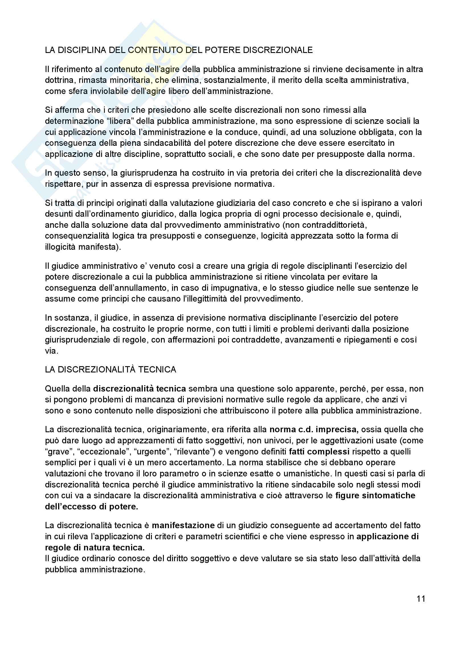 Appunti personali sul Diritto amministrativo 2015 Pag. 11