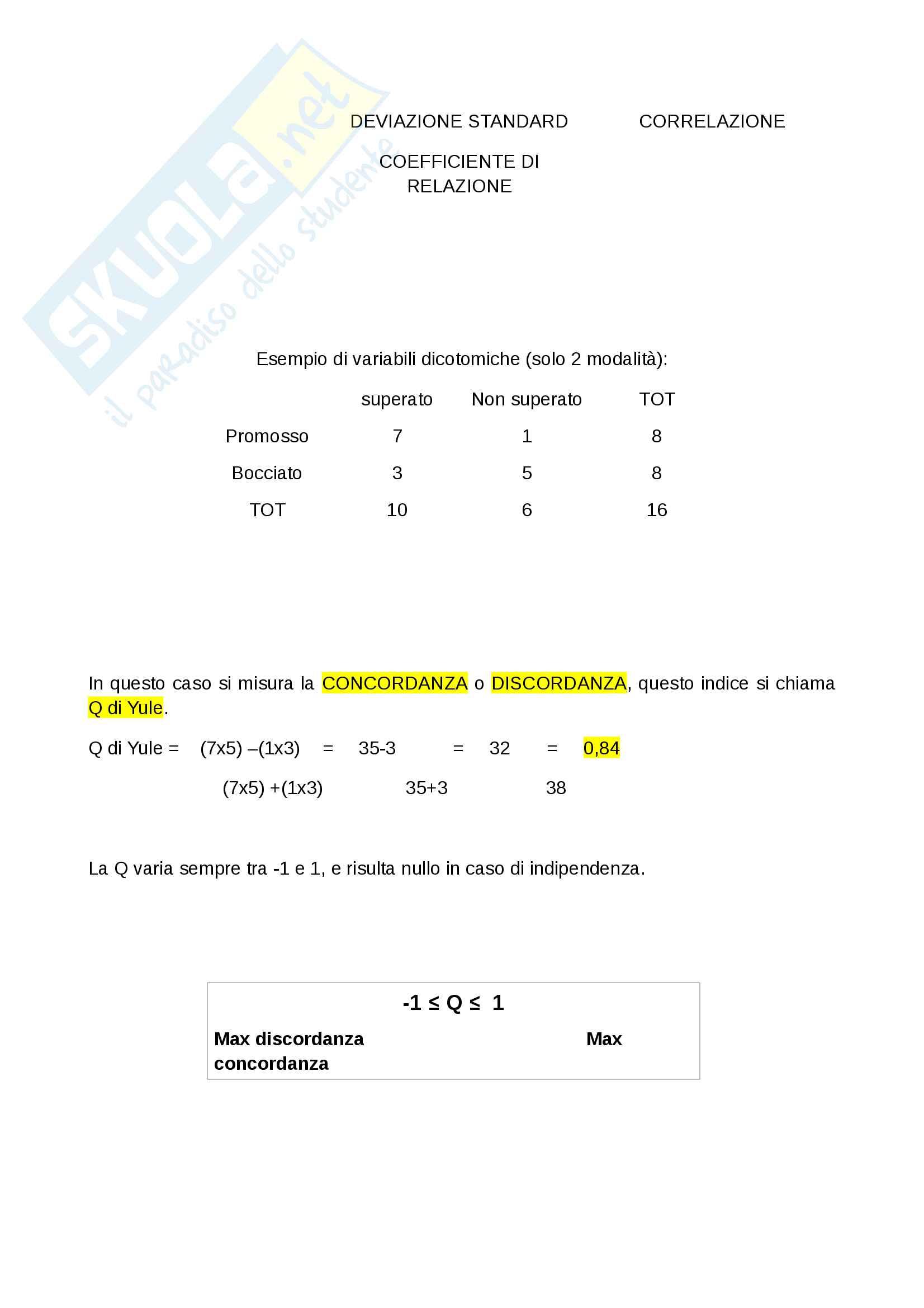 """Riassunto esame statistica, docente Bove, libro consigliato """"Statistica per la ricerca sociale"""", autori: Corbetta, Gasperoni, Pisati Pag. 16"""