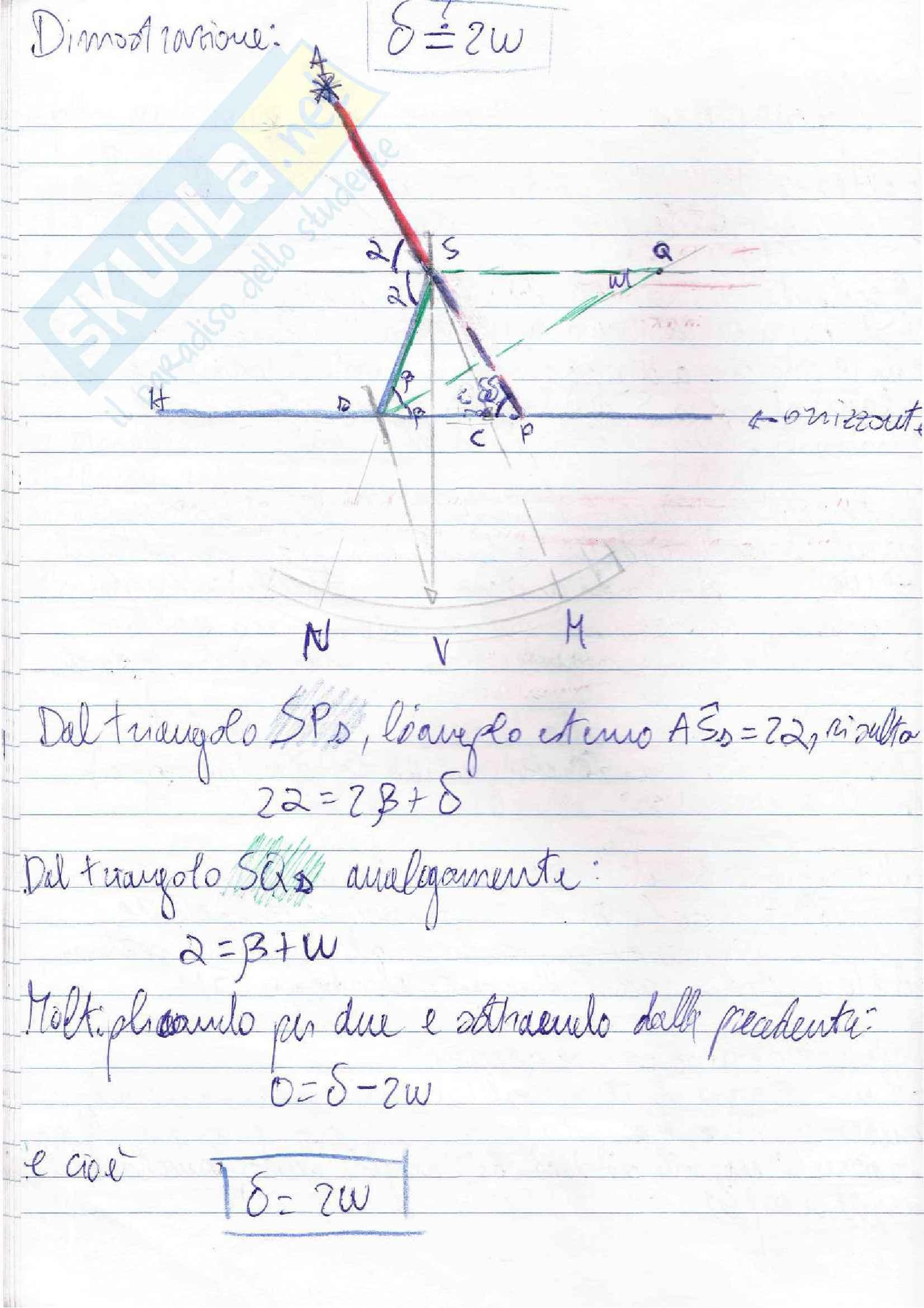 Lezioni, Navigazione Astronomica Pag. 41