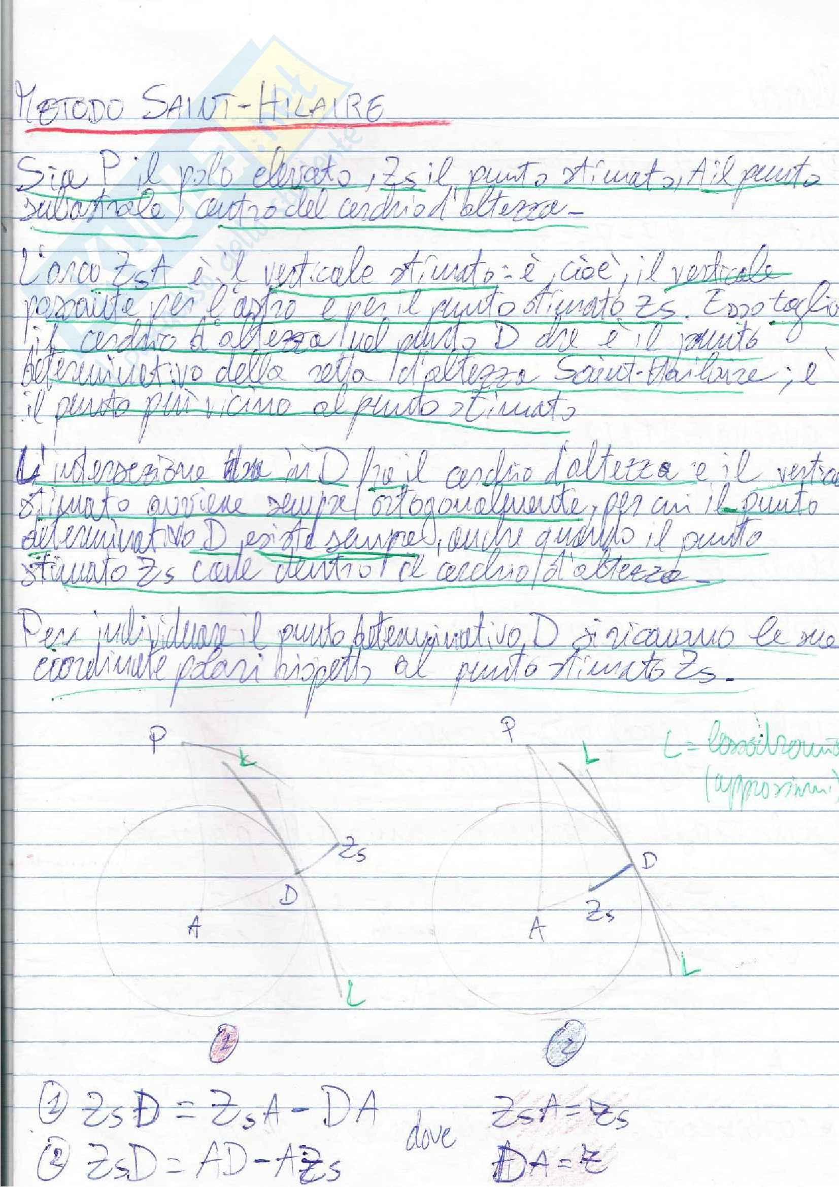 Lezioni, Navigazione Astronomica Pag. 66