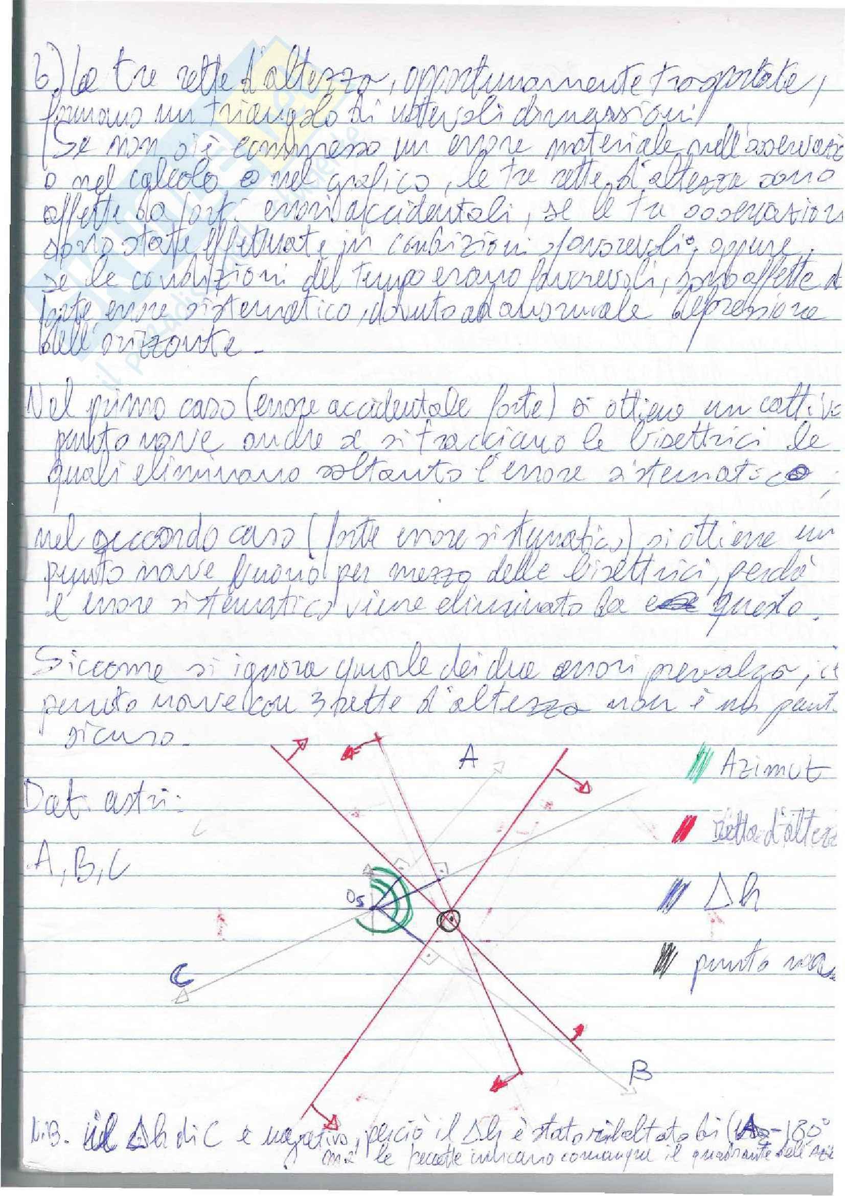 Lezioni, Navigazione Astronomica Pag. 76