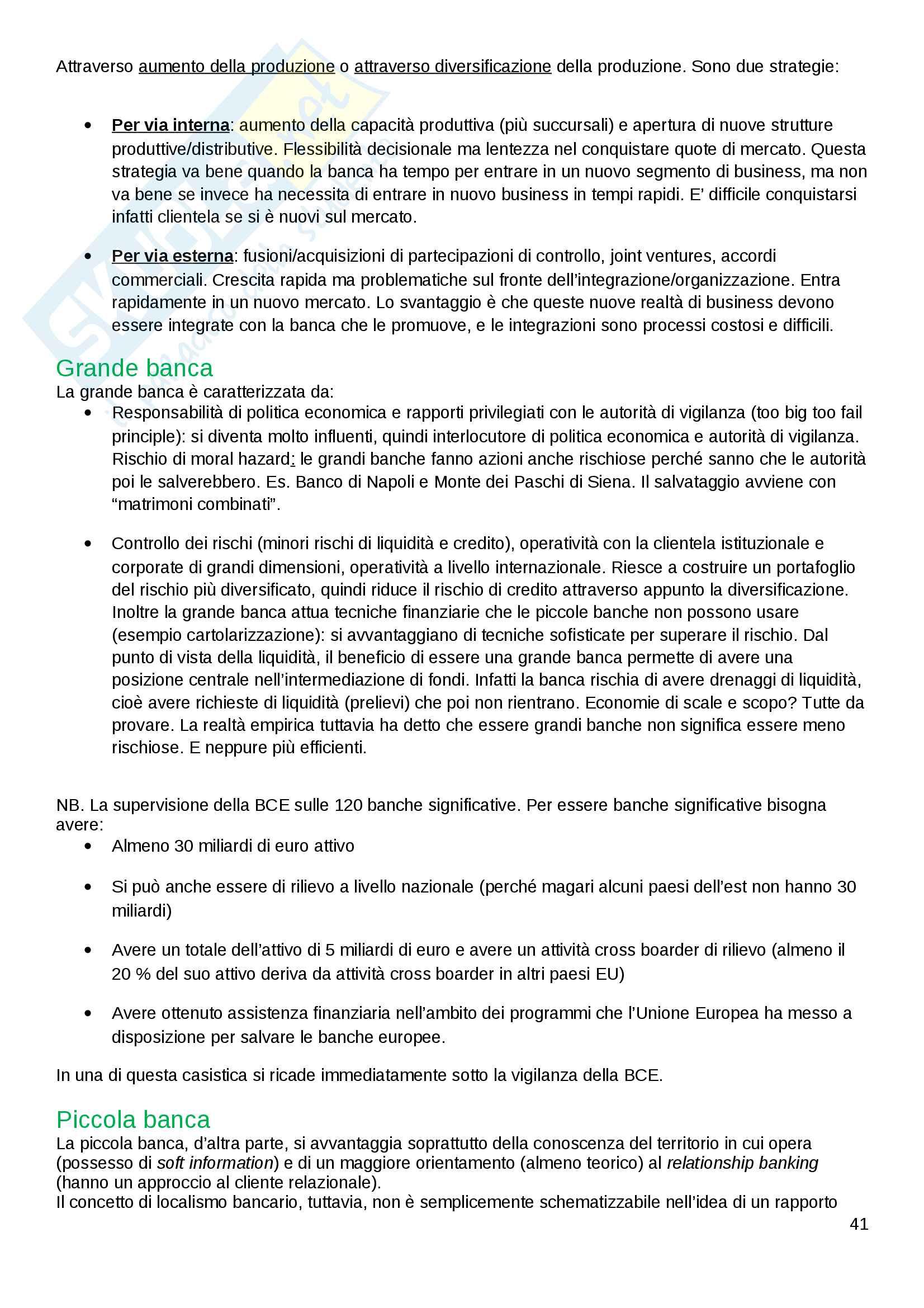 Economia delle Aziende di Credito Pag. 41