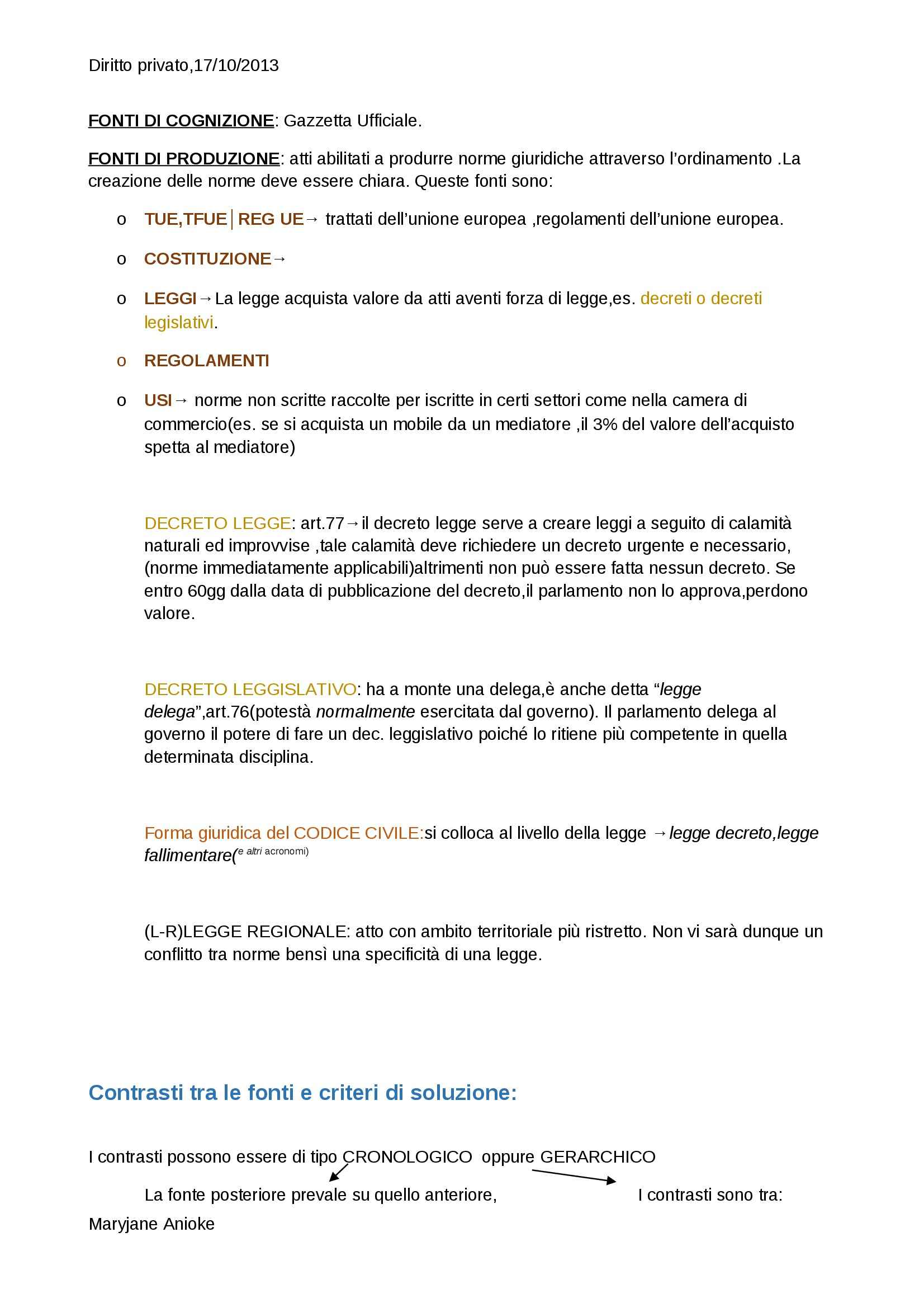 Diritto privato e commerciale - Appunti Pag. 6