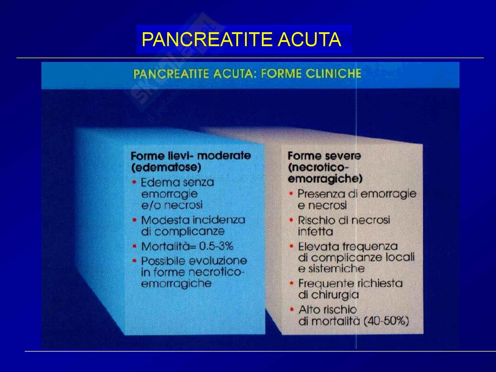 Chirurgia generale - pancreatite acuta Pag. 11