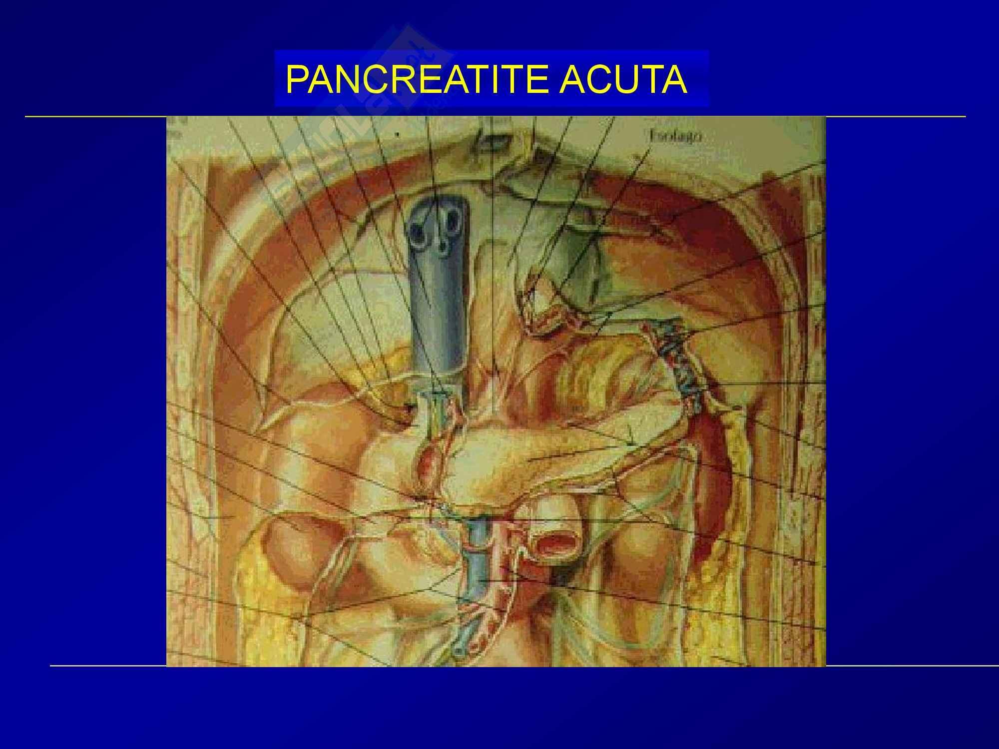 Chirurgia generale - pancreatite acuta Pag. 2