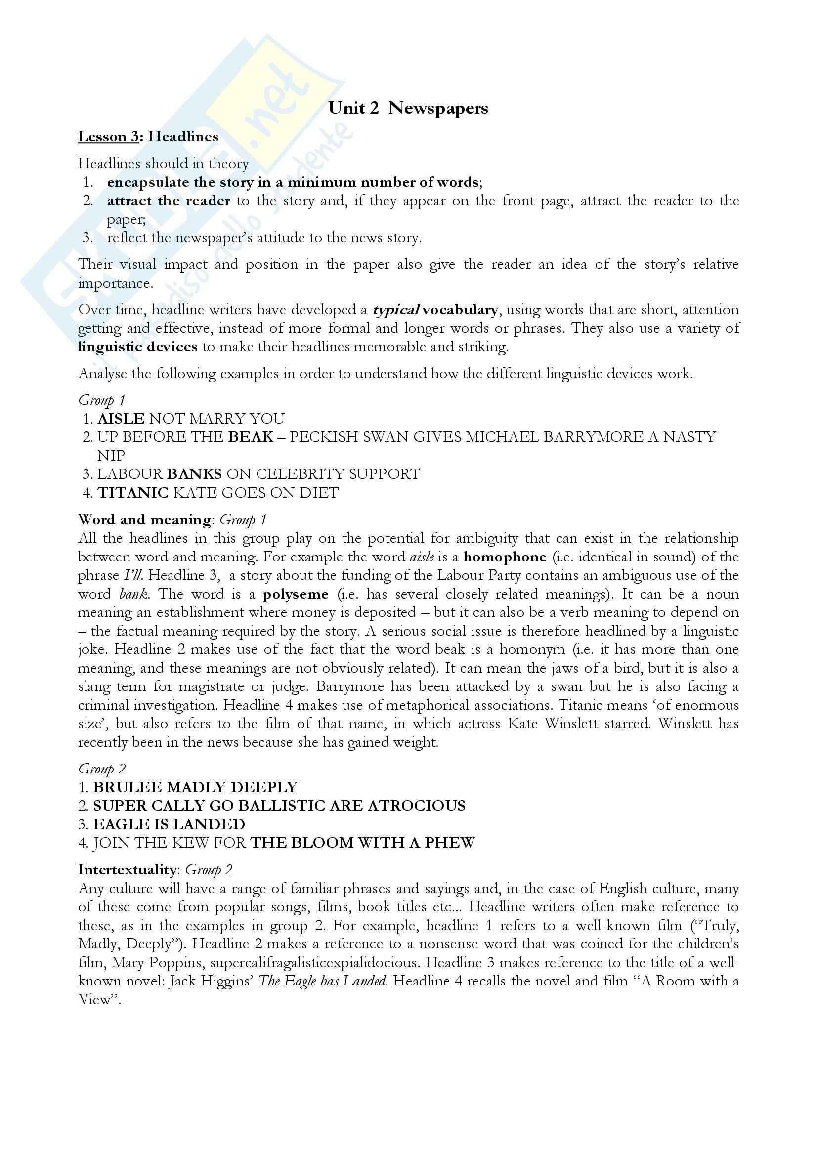 appunto L. Ruggiero Diritto della comunicazione e dell'informazione