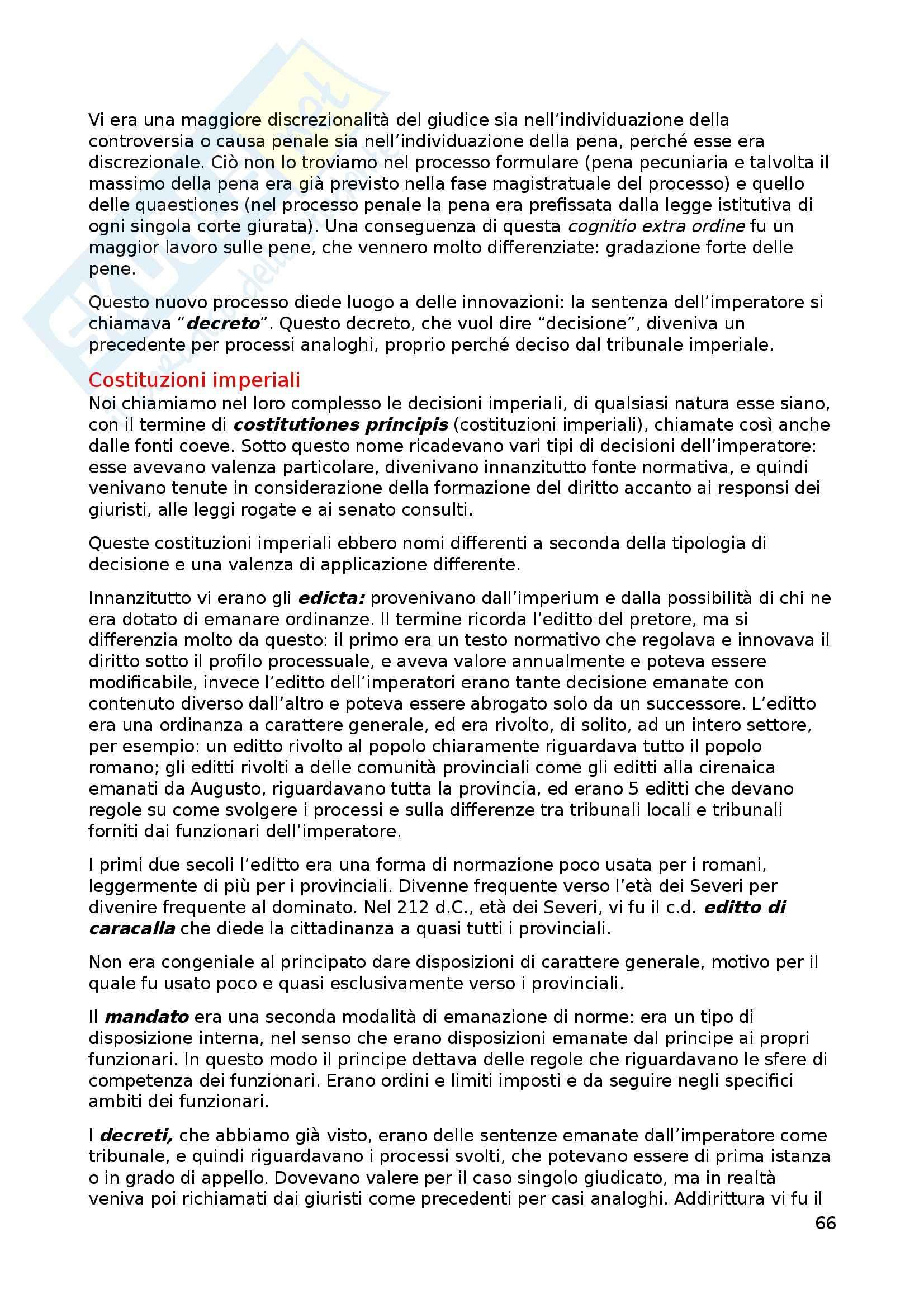 Appunti di istituzioni di diritto romano Pag. 66