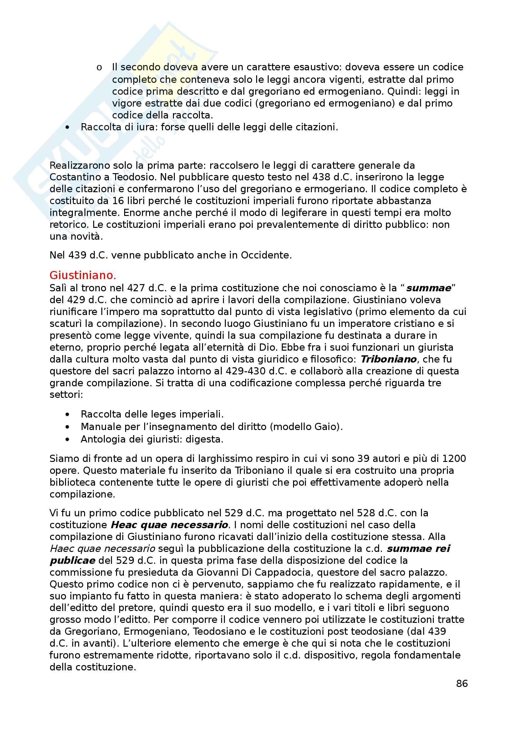 Appunti di istituzioni di diritto romano Pag. 86