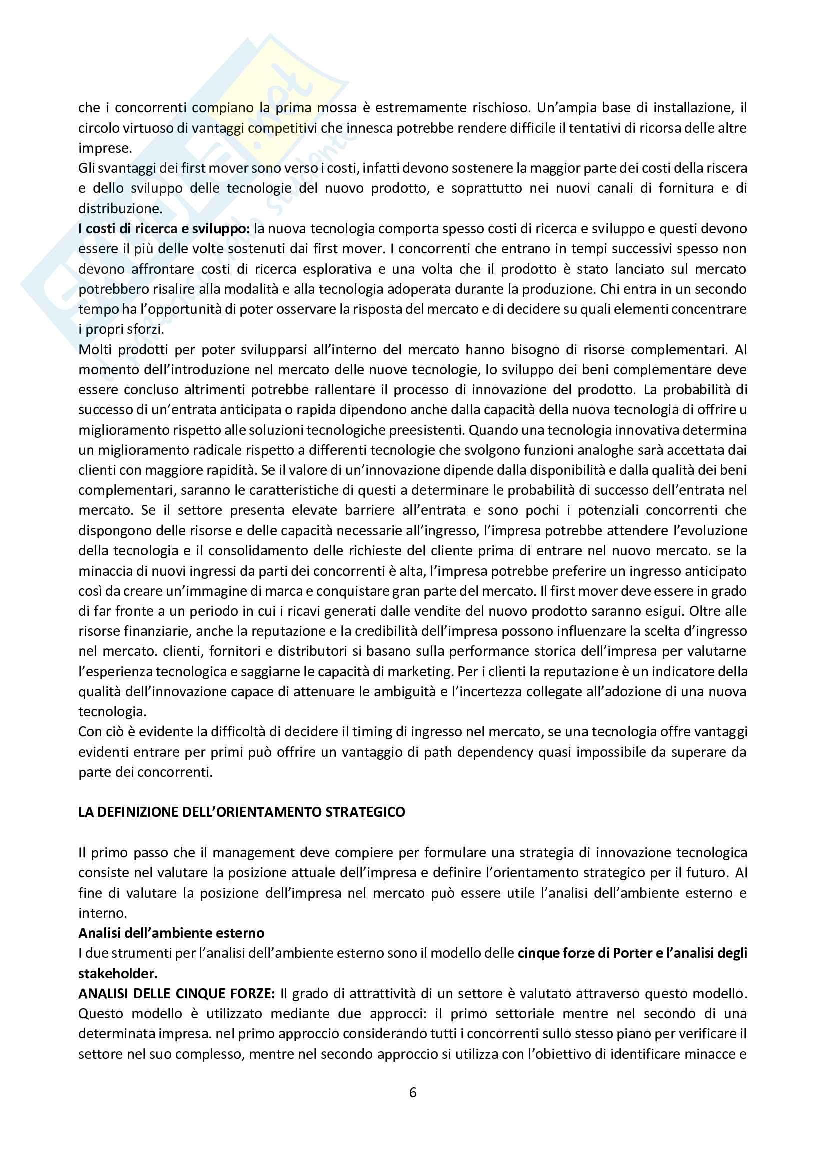 Riassunti Innovazione e Imprenditorialità Pag. 6