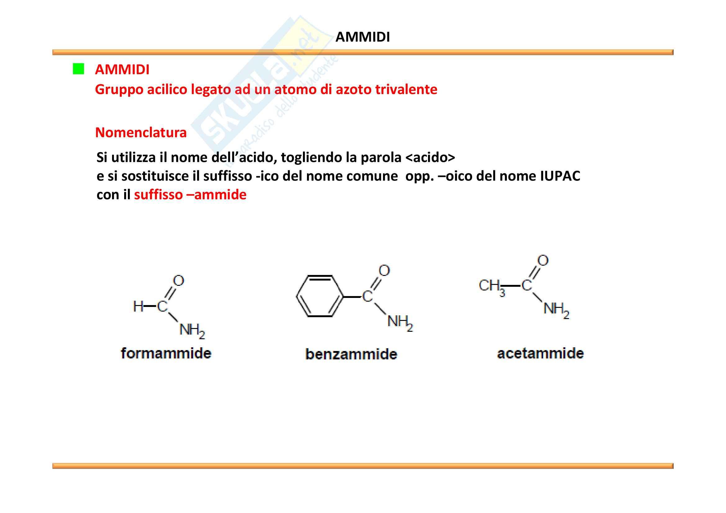 Chimica Organica: Acidi carbossilici e derivati Pag. 21