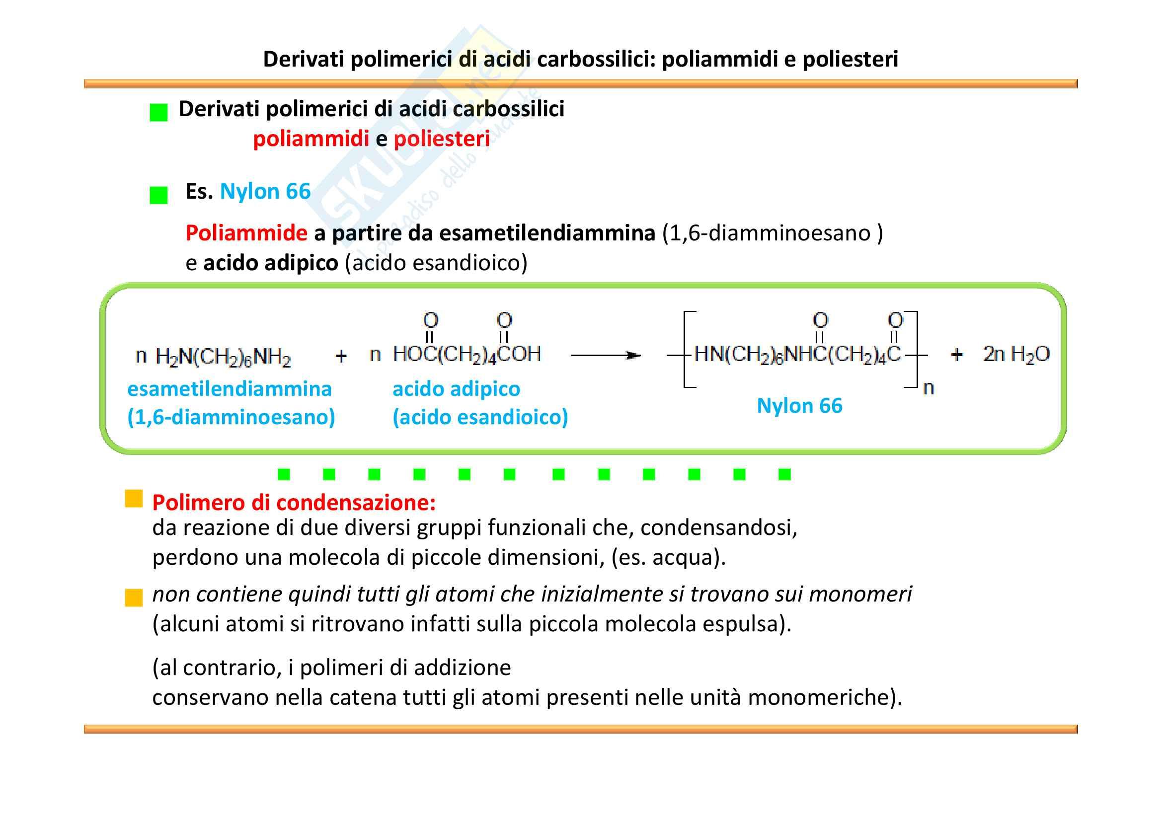 Chimica Organica: Acidi carbossilici e derivati Pag. 46