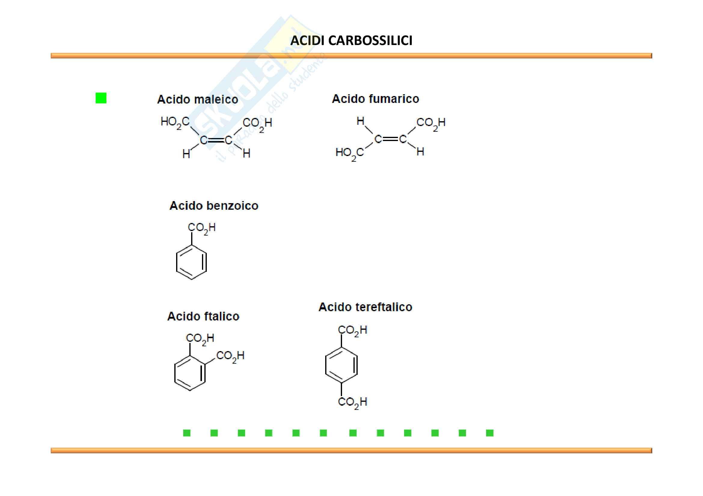 Chimica Organica: Acidi carbossilici e derivati Pag. 6