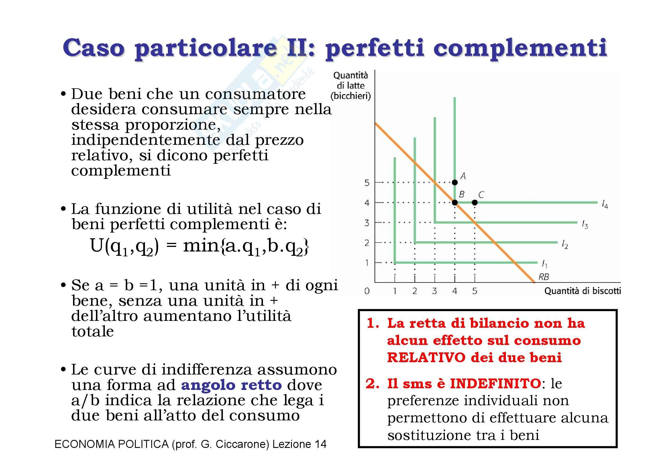 Economia monetaria - la curva di indifferenza Pag. 16