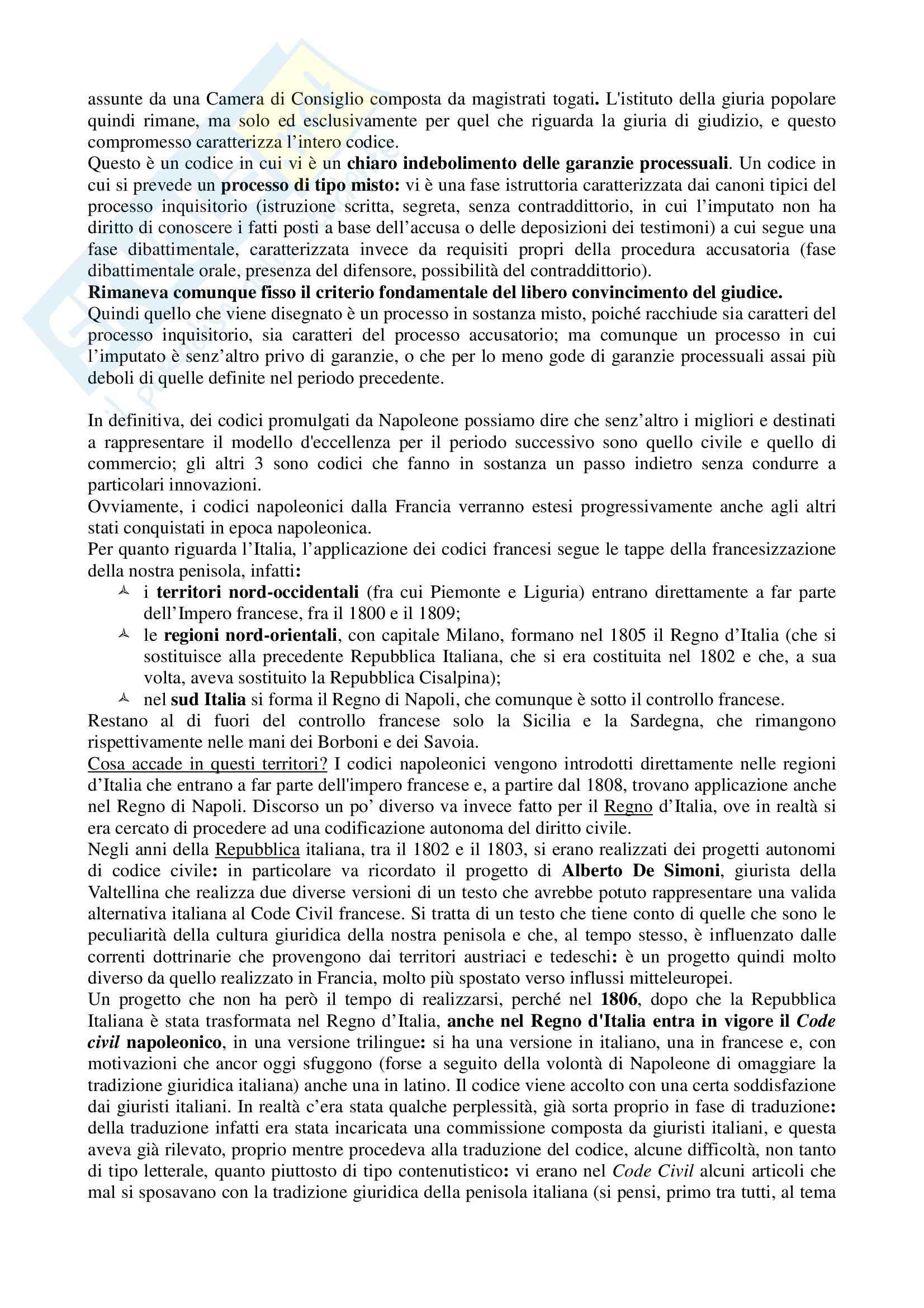 Storia delle codificazioni e delle Costituzioni moderne - Lezioni Pag. 76