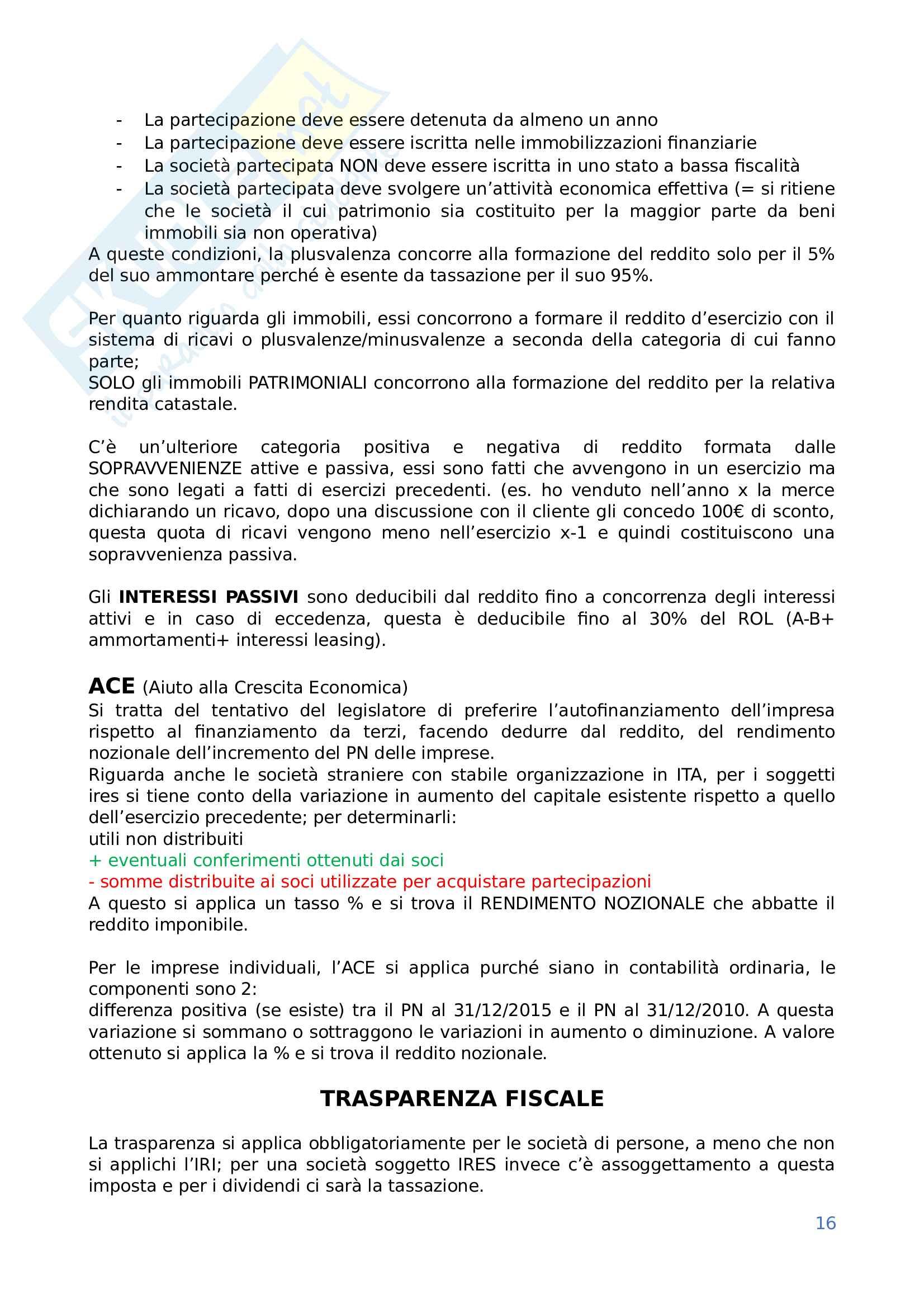 Diritto tributario Pag. 16