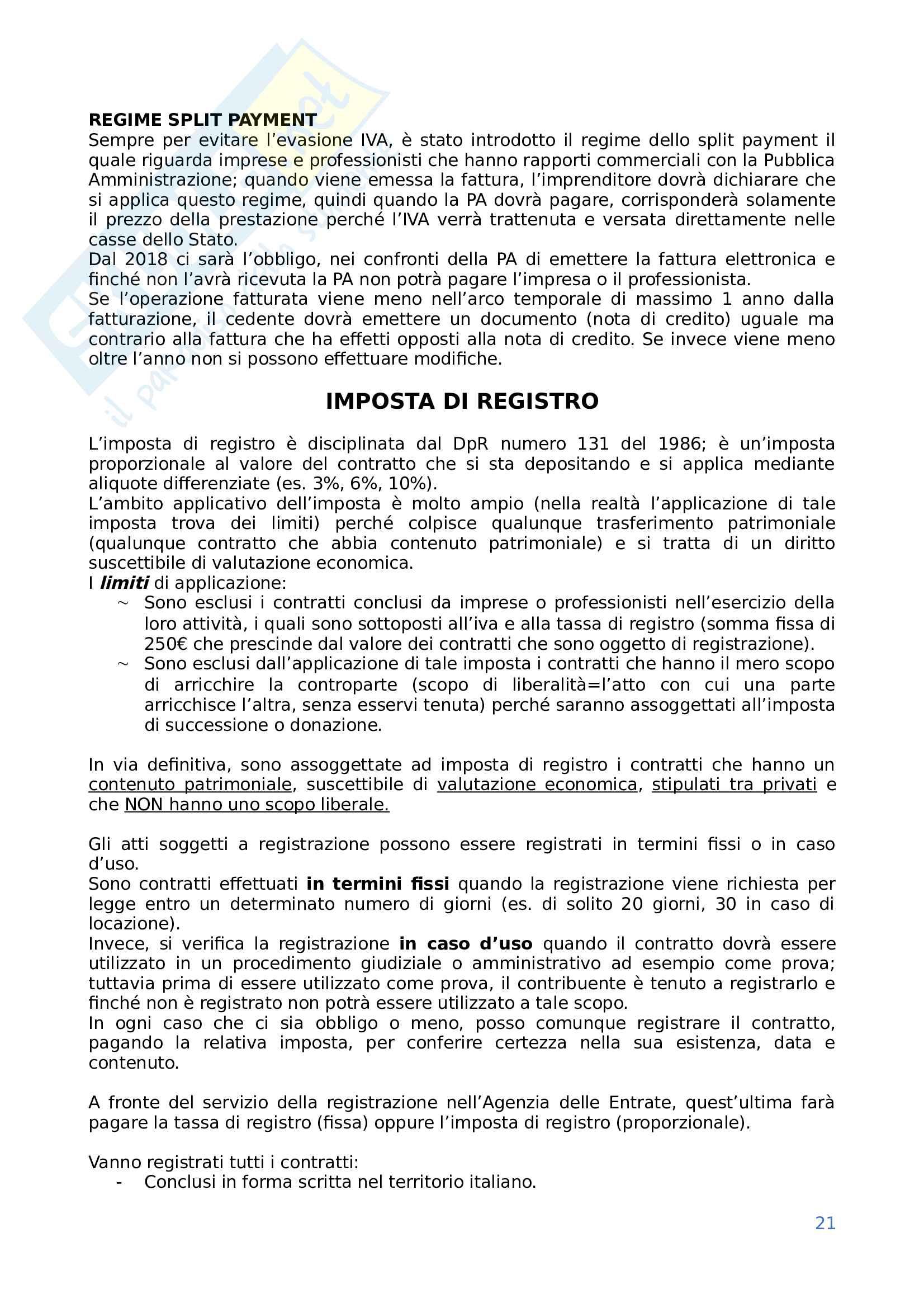 Diritto tributario Pag. 21