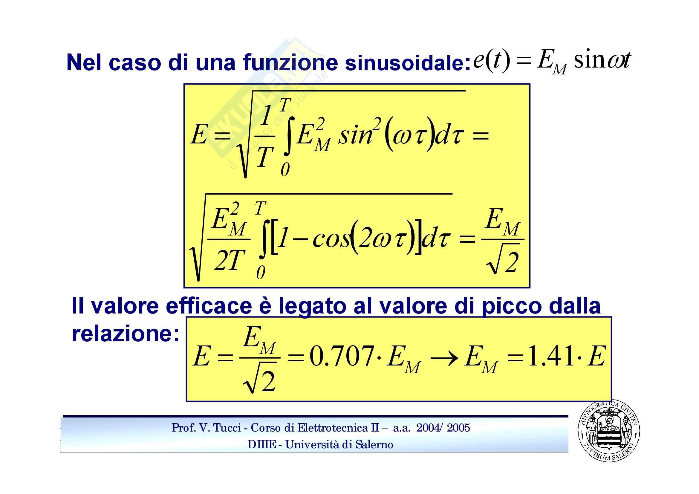 Potenziali sinusoidali Pag. 2